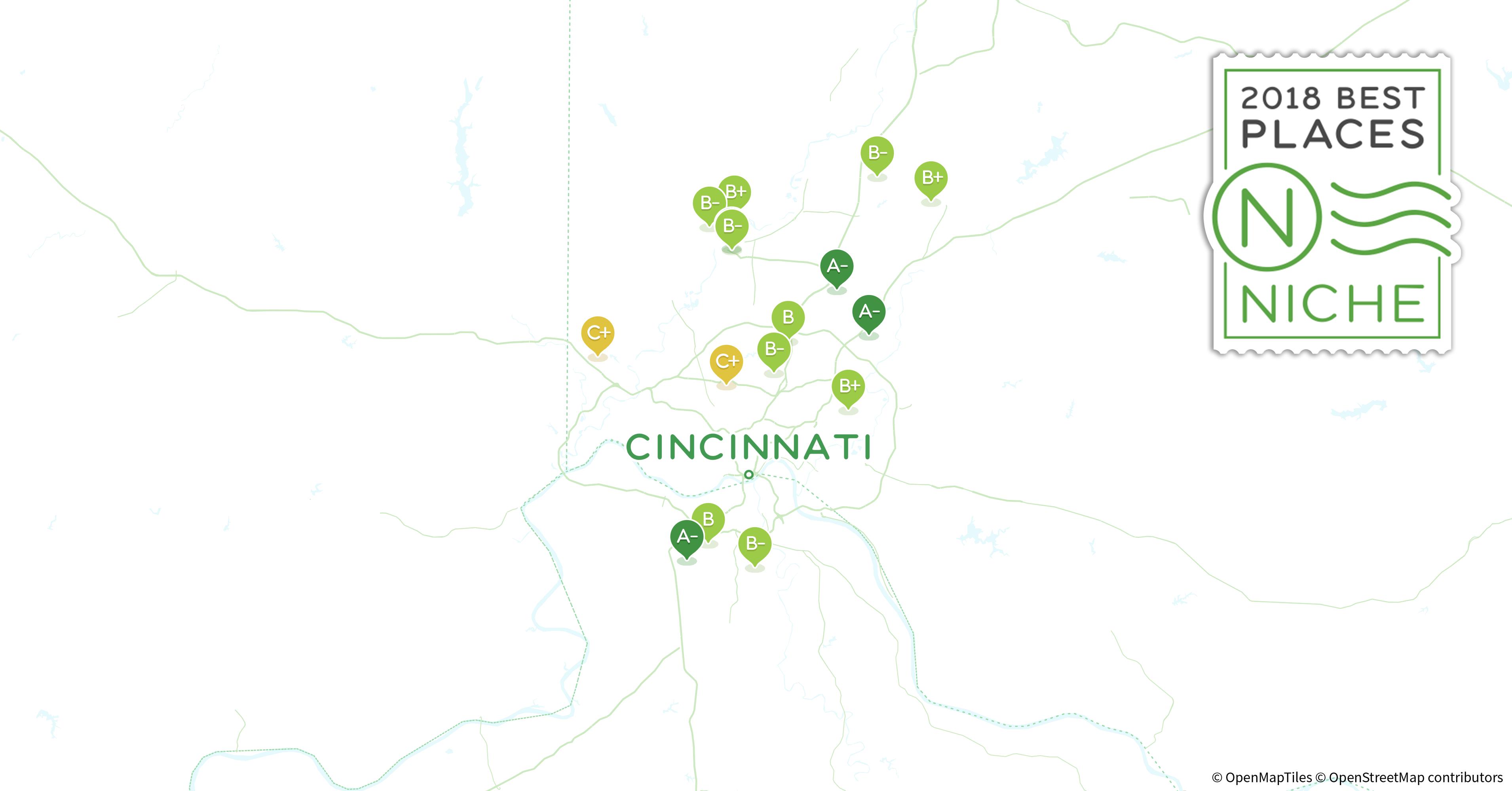 2018 Safest Neighborhoods in Cincinnati Area Niche