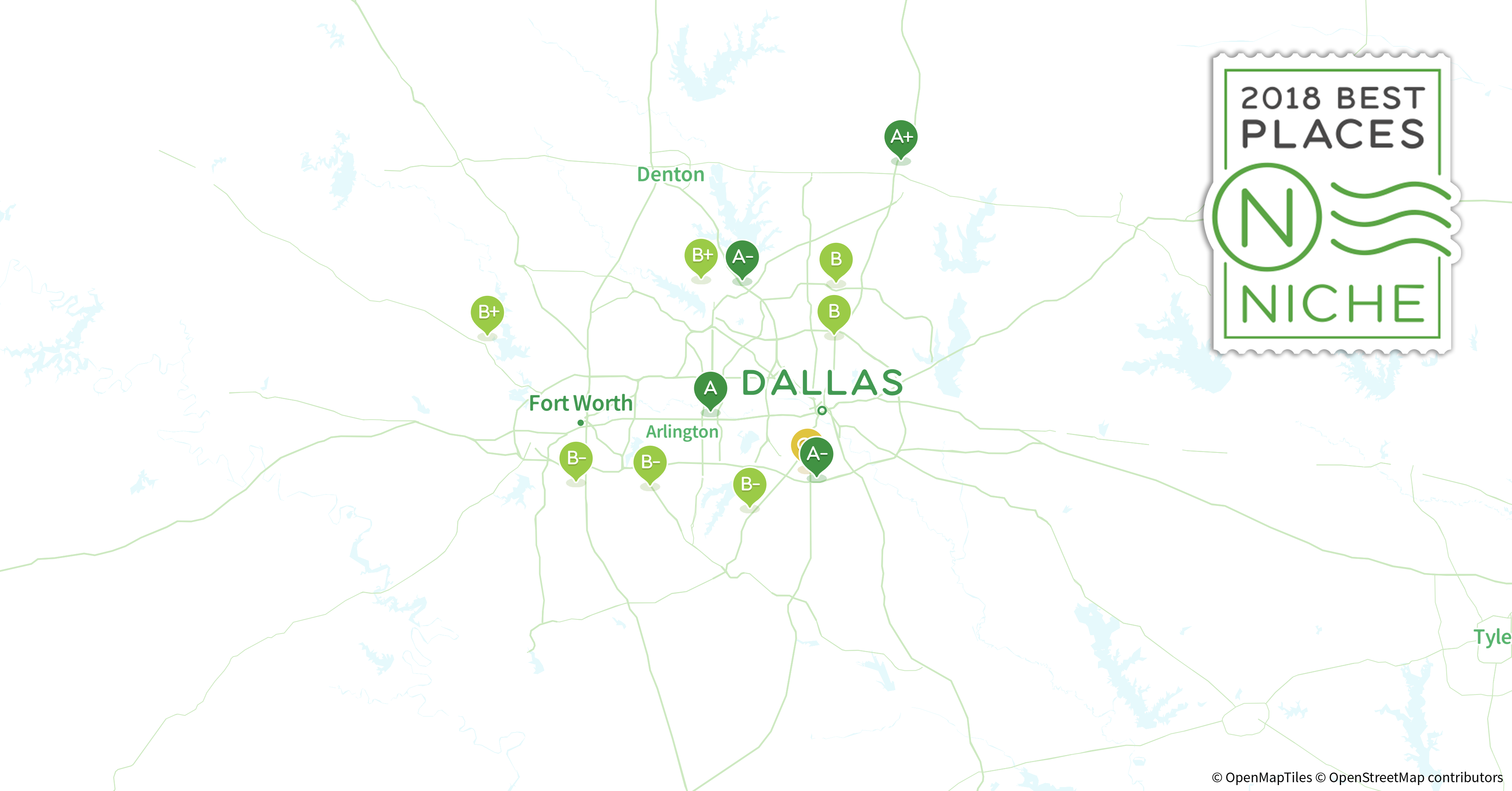 2018 Best Dallas-Fort Worth Area Suburbs to Live - Niche