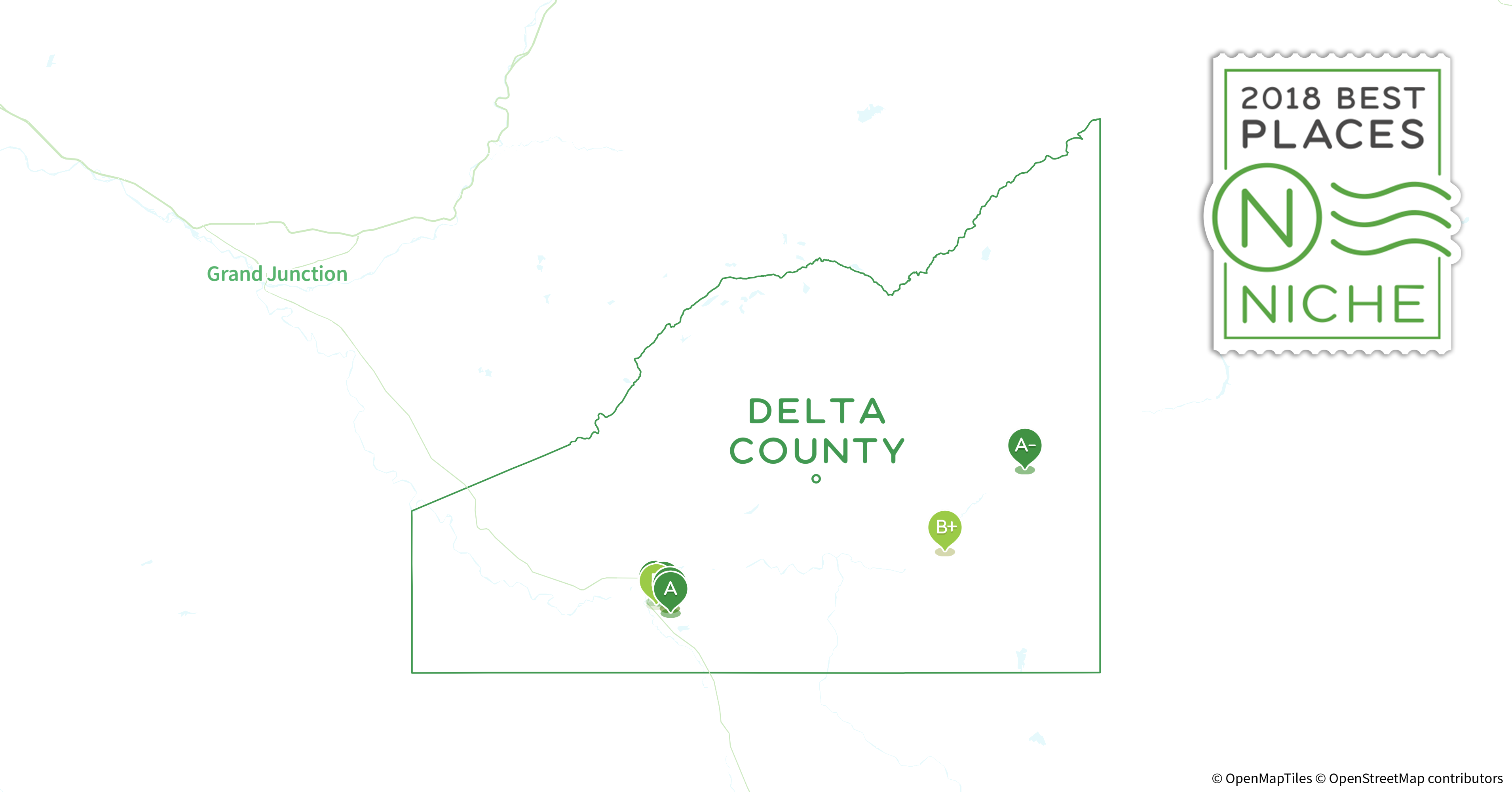 Delta County Colorado Map.2018 Best Places To Buy A House In Delta County Co Niche