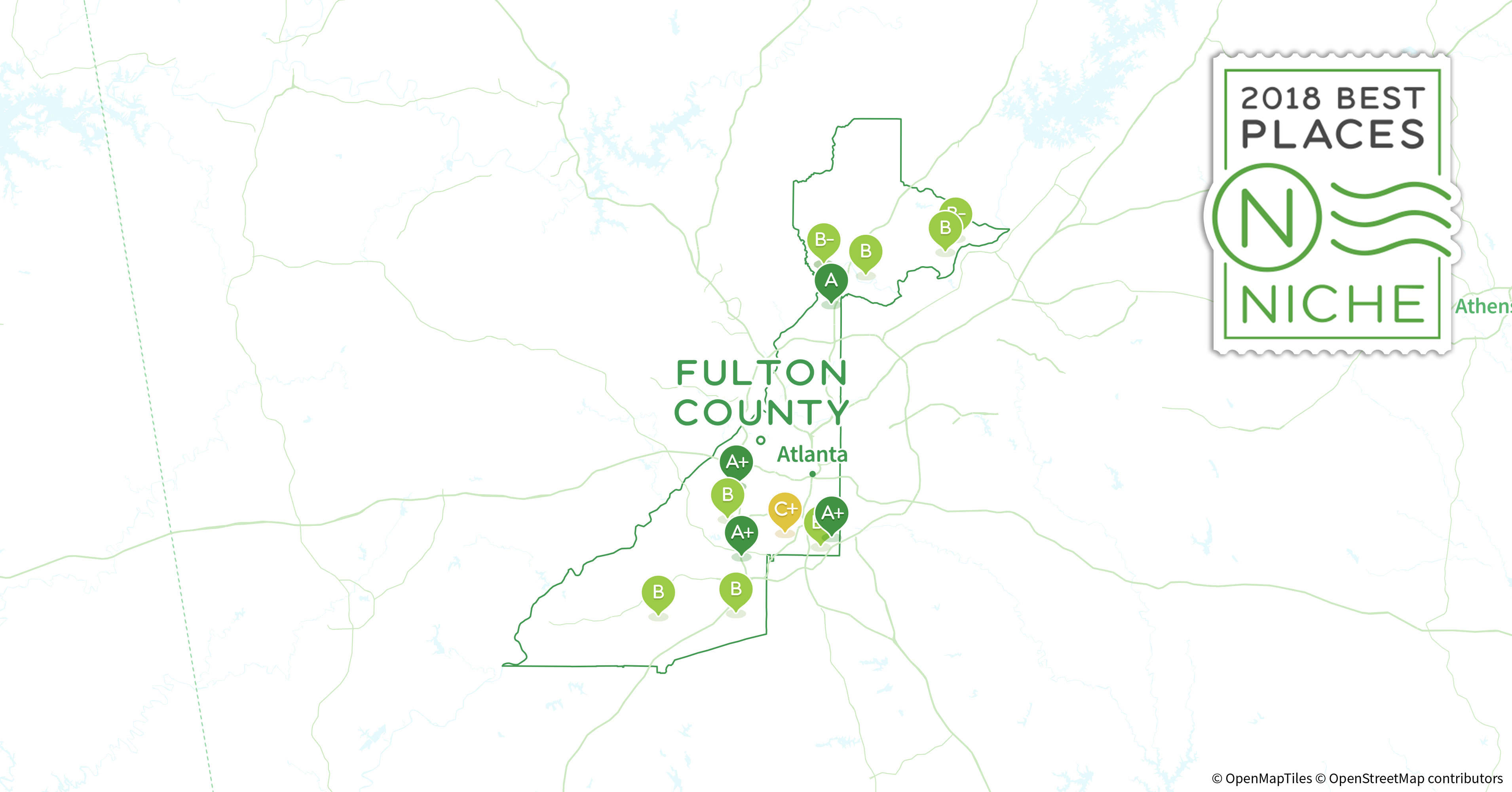 2018 Best ZIP Codes to Buy a House in Fulton County, GA - Niche