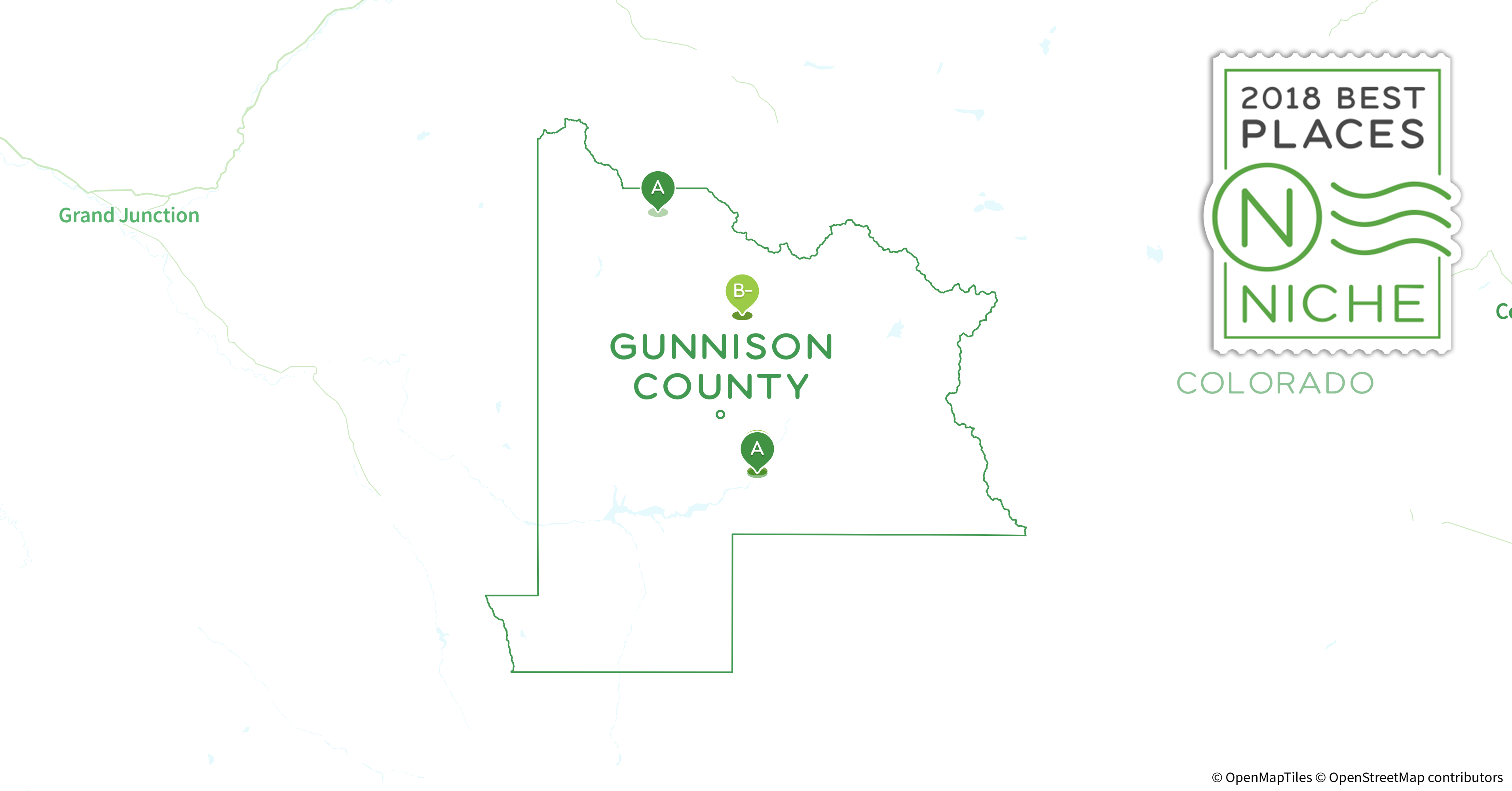 Gunnison County Colorado Map.2018 Best Places To Live In Gunnison County Co Niche
