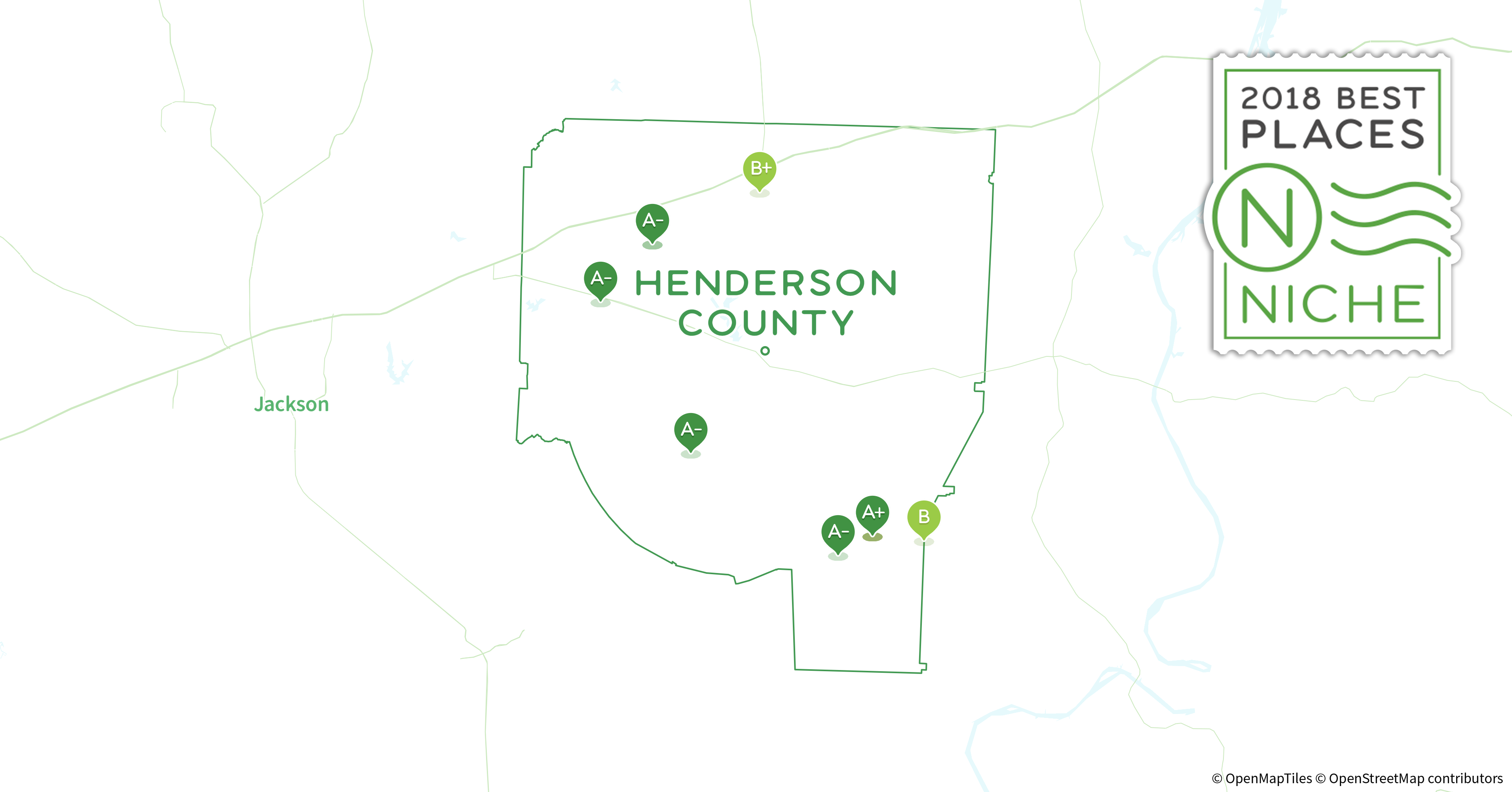 Henderson Tennessee Map.2018 Best Places To Raise A Family In Henderson County Tn Niche