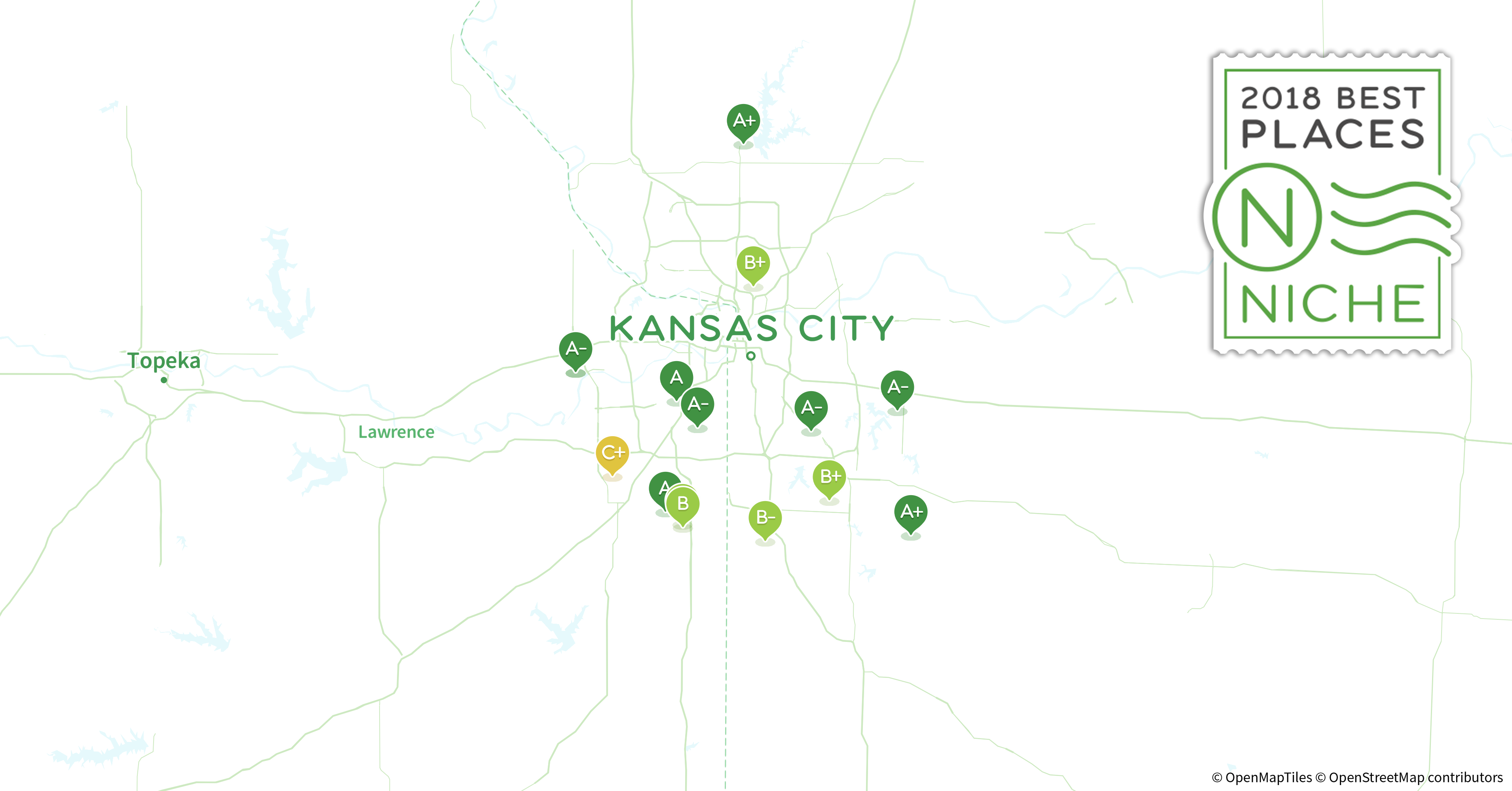 2018 Safest Neighborhoods in Kansas City Area - Niche