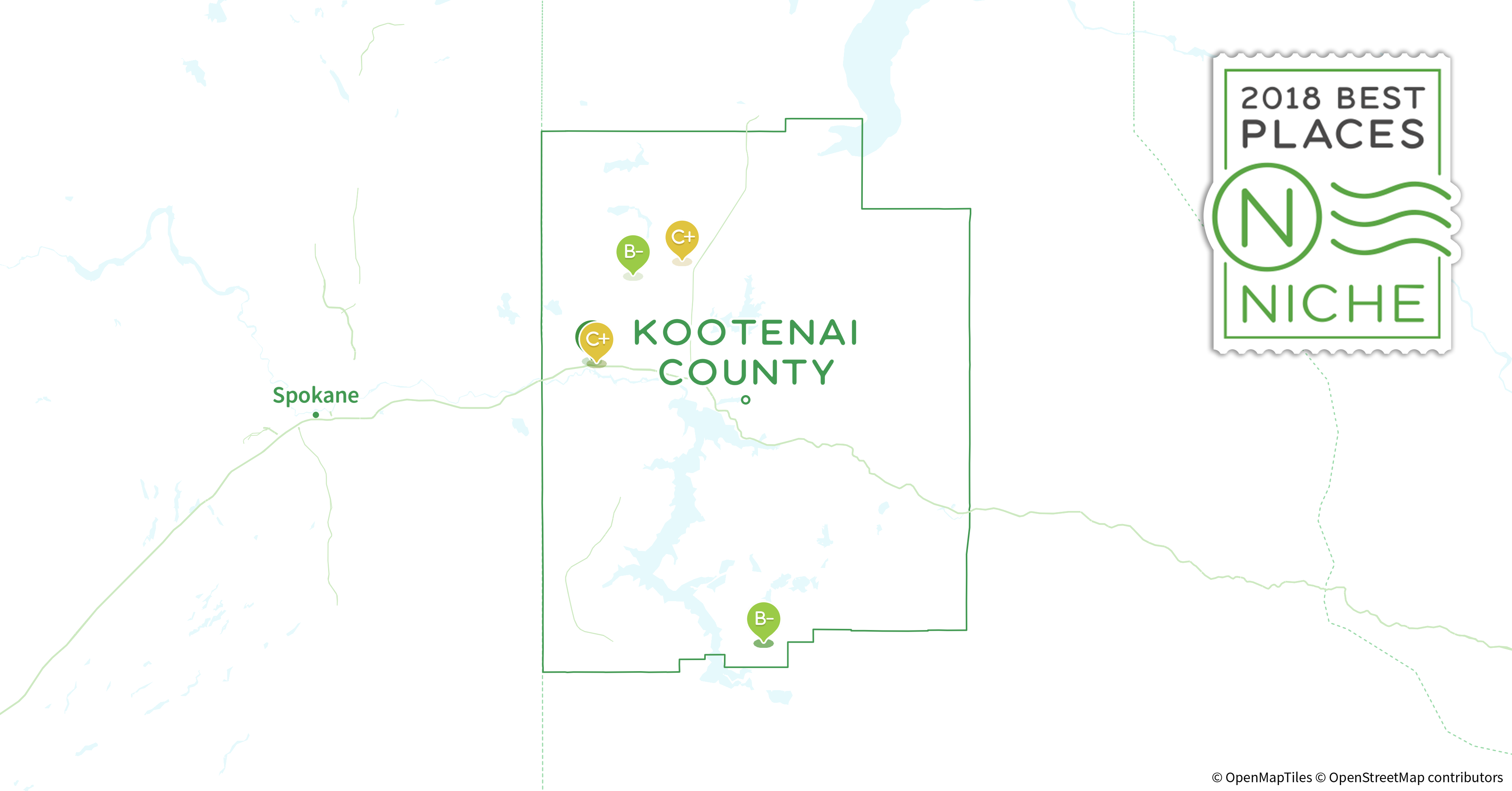 2018 Safest Places to Live in Kootenai County ID Niche