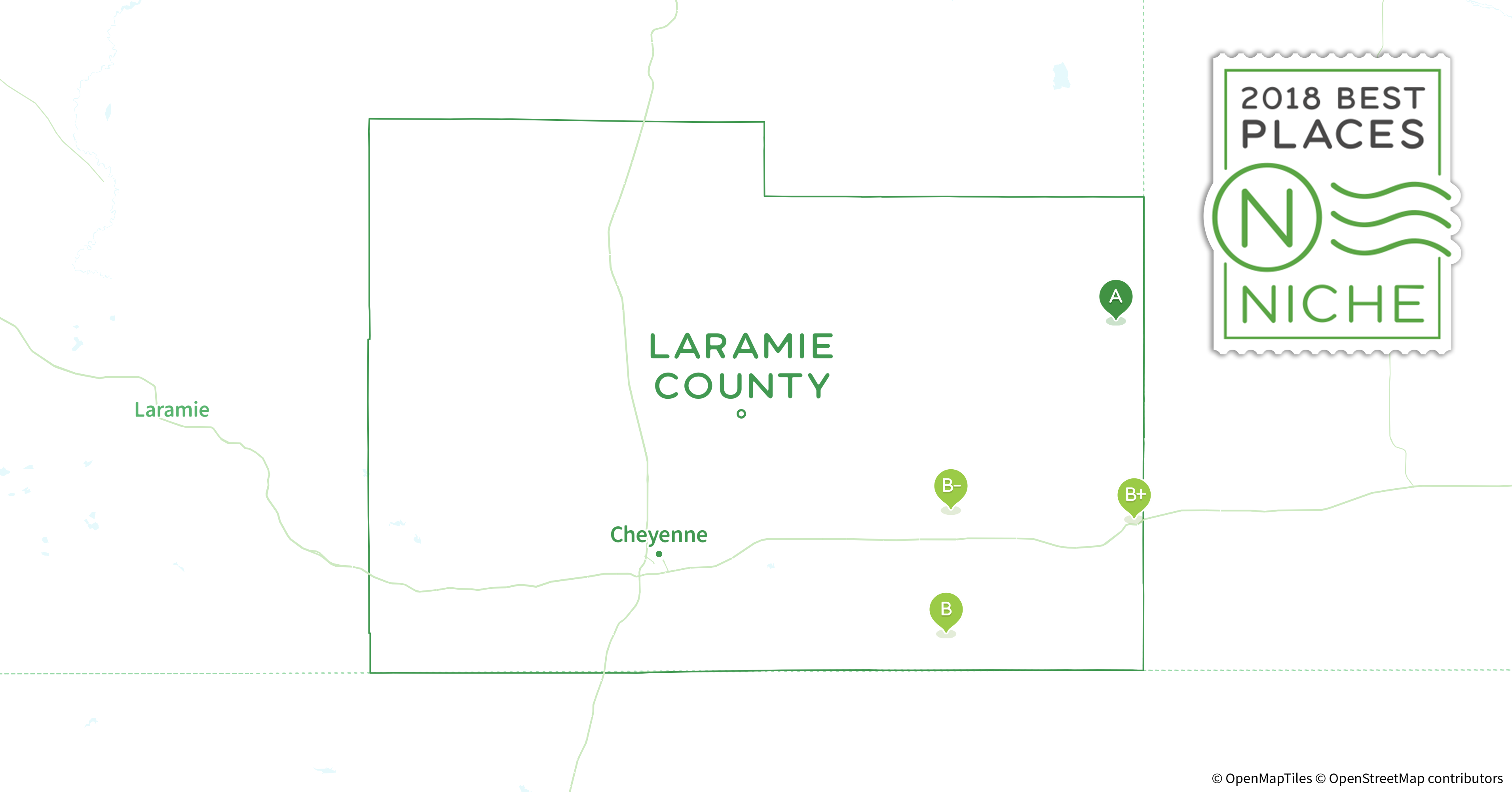 Genial 2018 Best Places To Live In Laramie County, WY   Niche