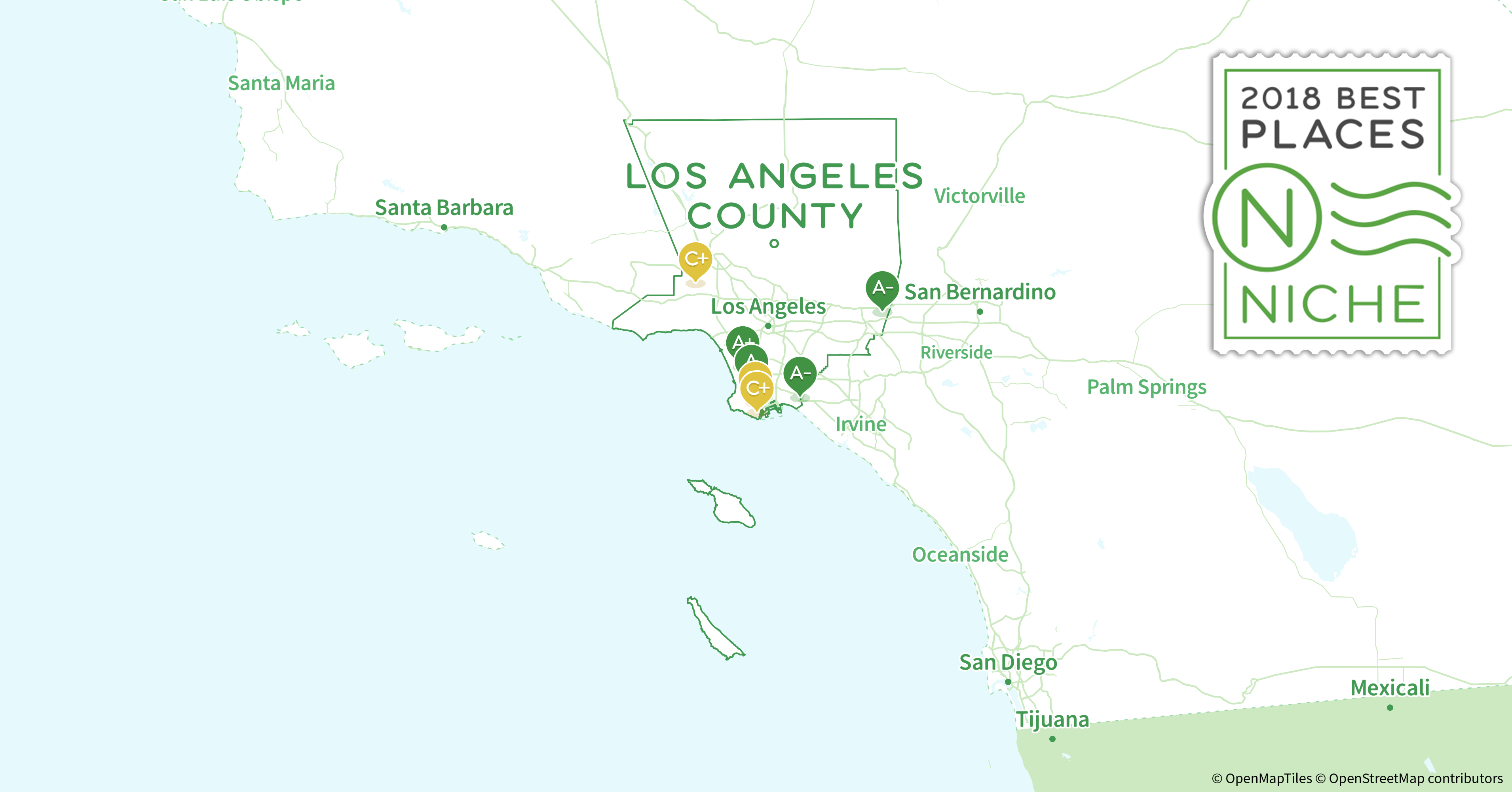 90045 Zip Code Map on