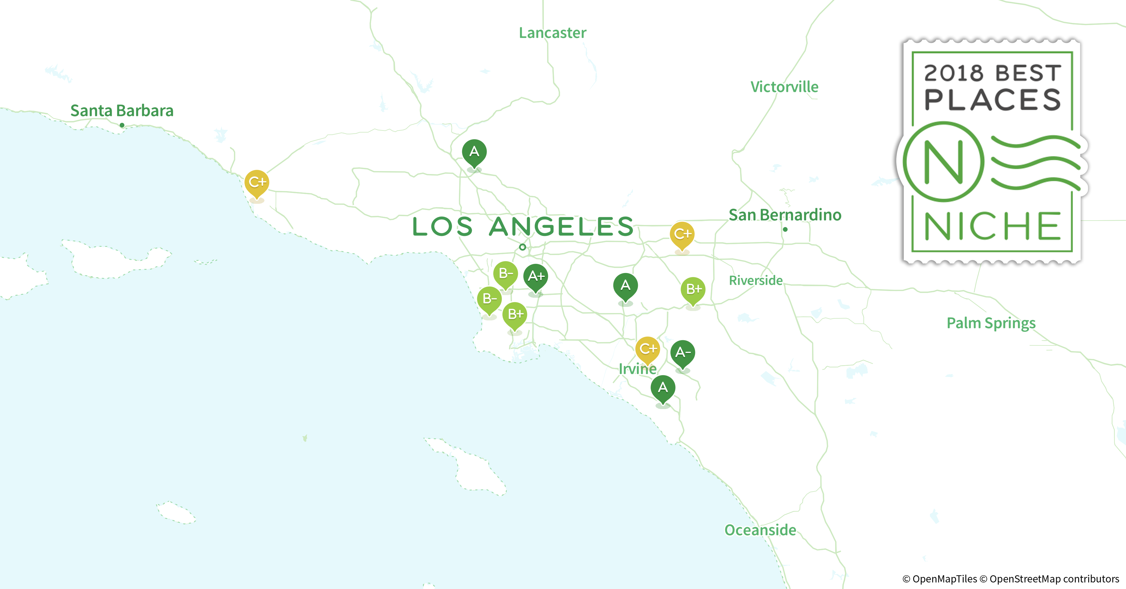 2018 Best Los Angeles Area Neighborhoods For Millennials