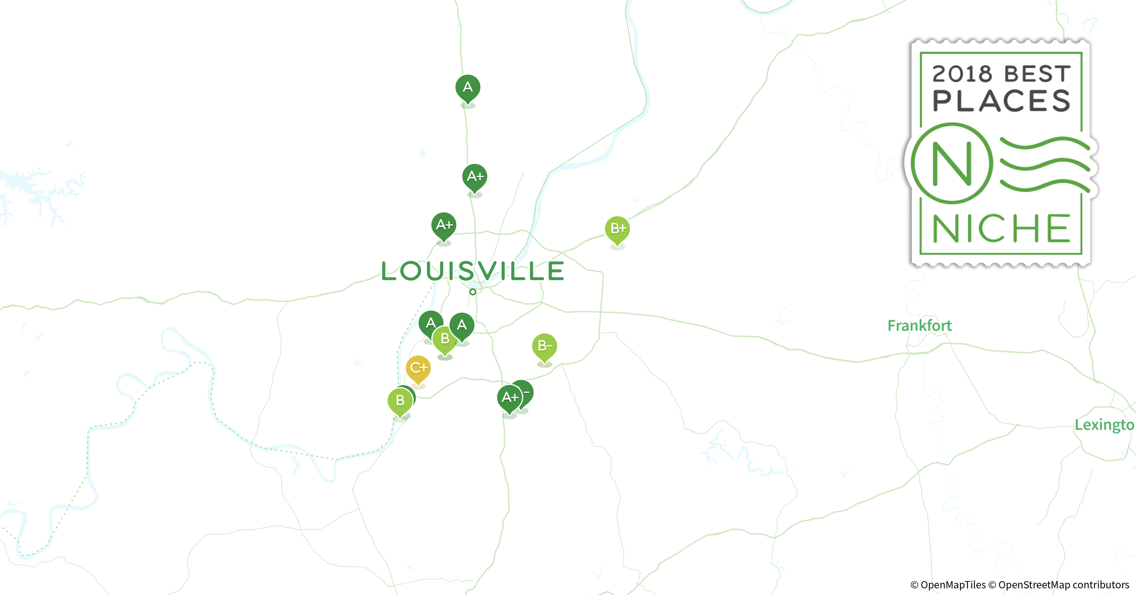 2018 Best Louisville Area Suburbs to Live Niche