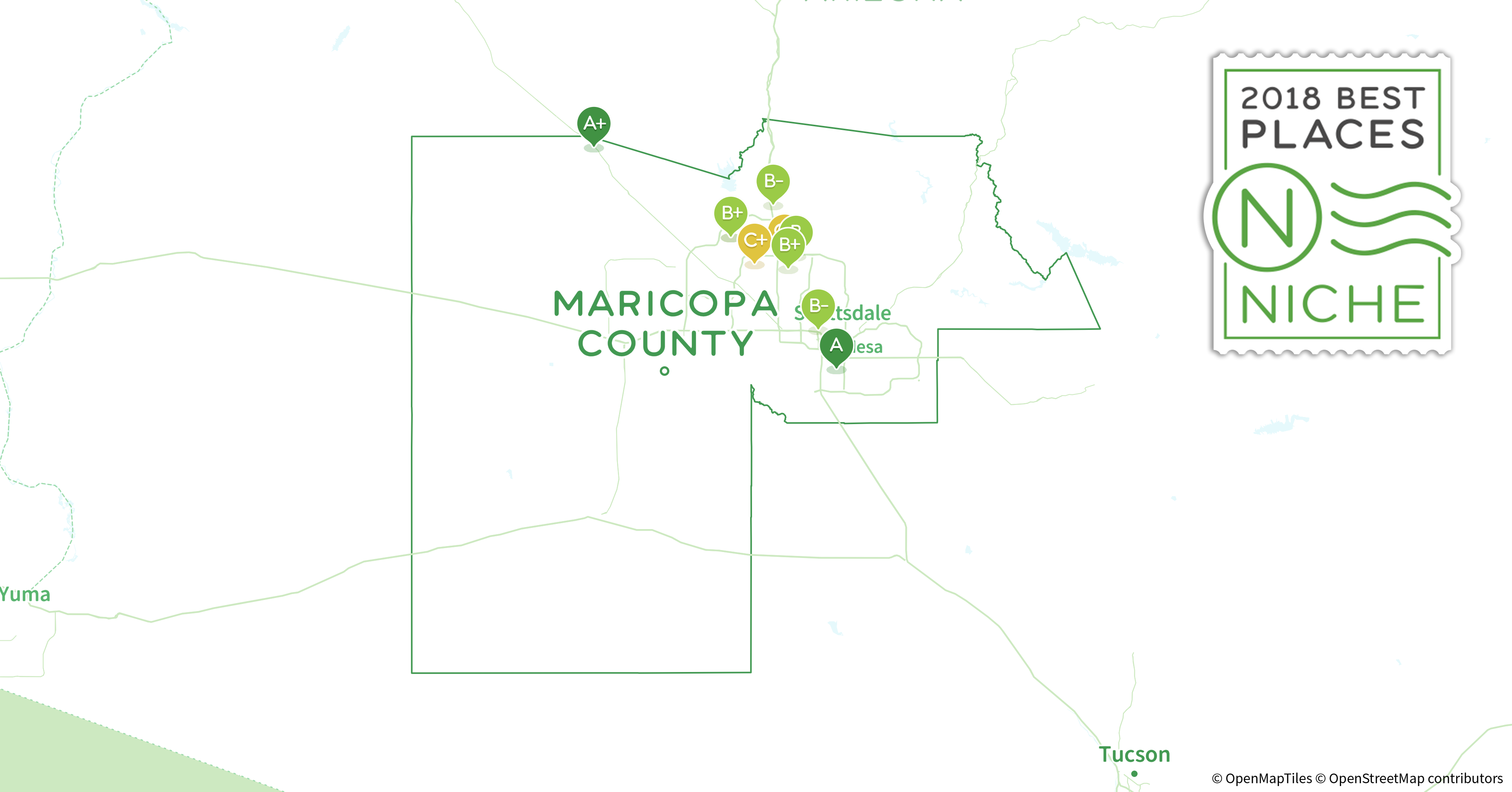 2018 best places to live in maricopa county az niche