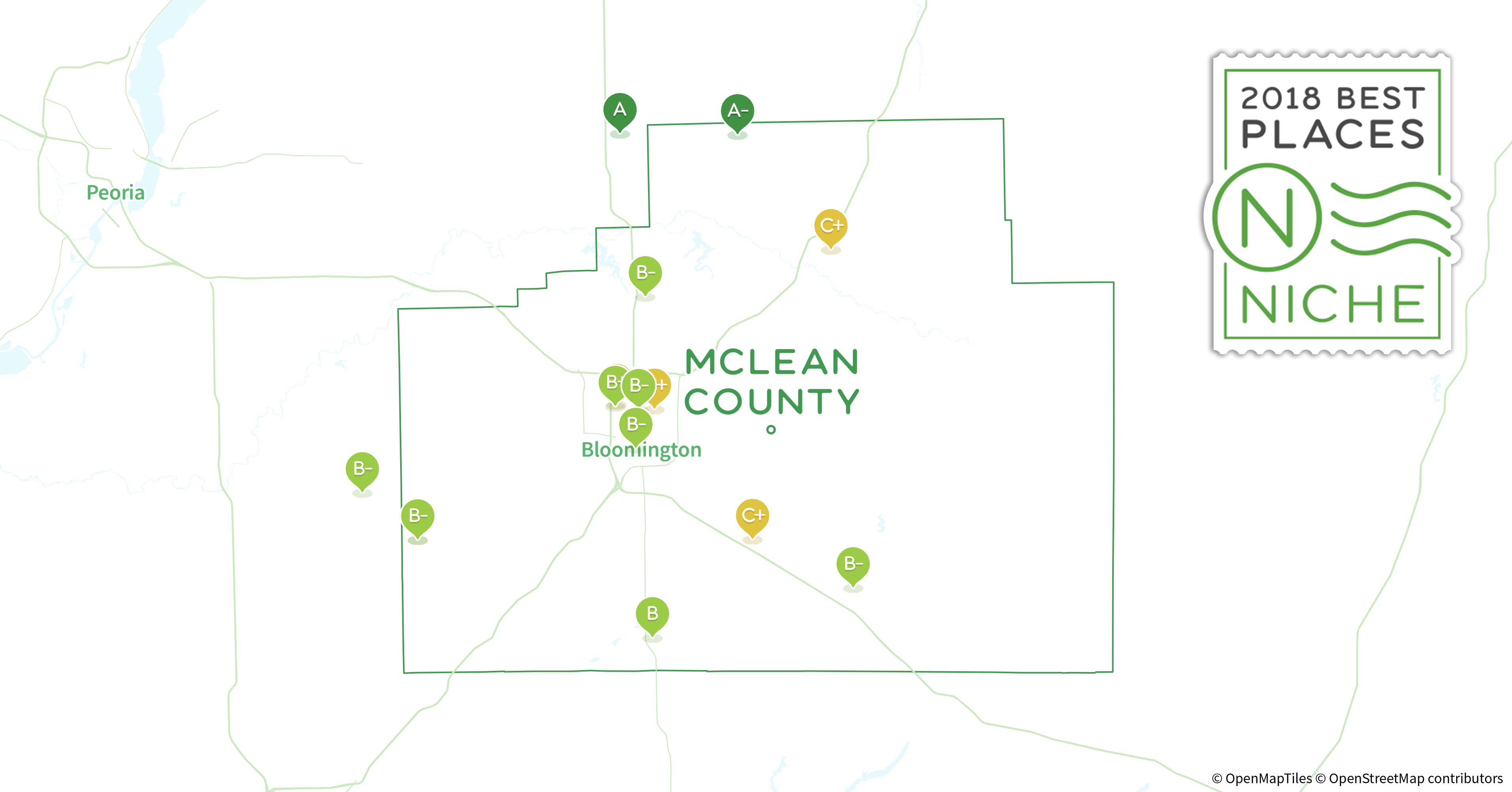 2018 Best Places To Live In McLean County, IL   Niche