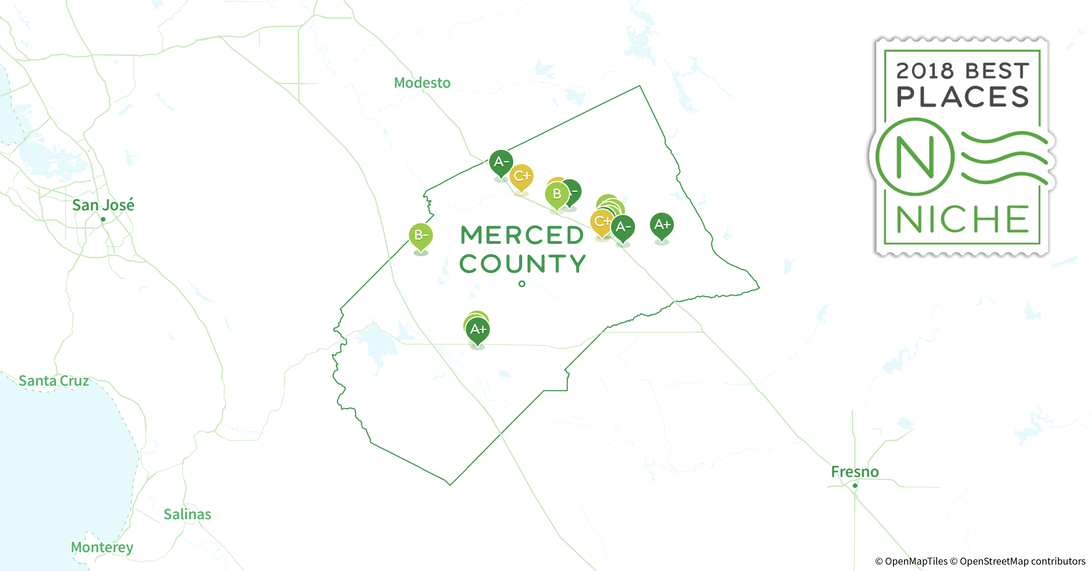 2018 Safest Places to Live in Merced County, CA - Niche