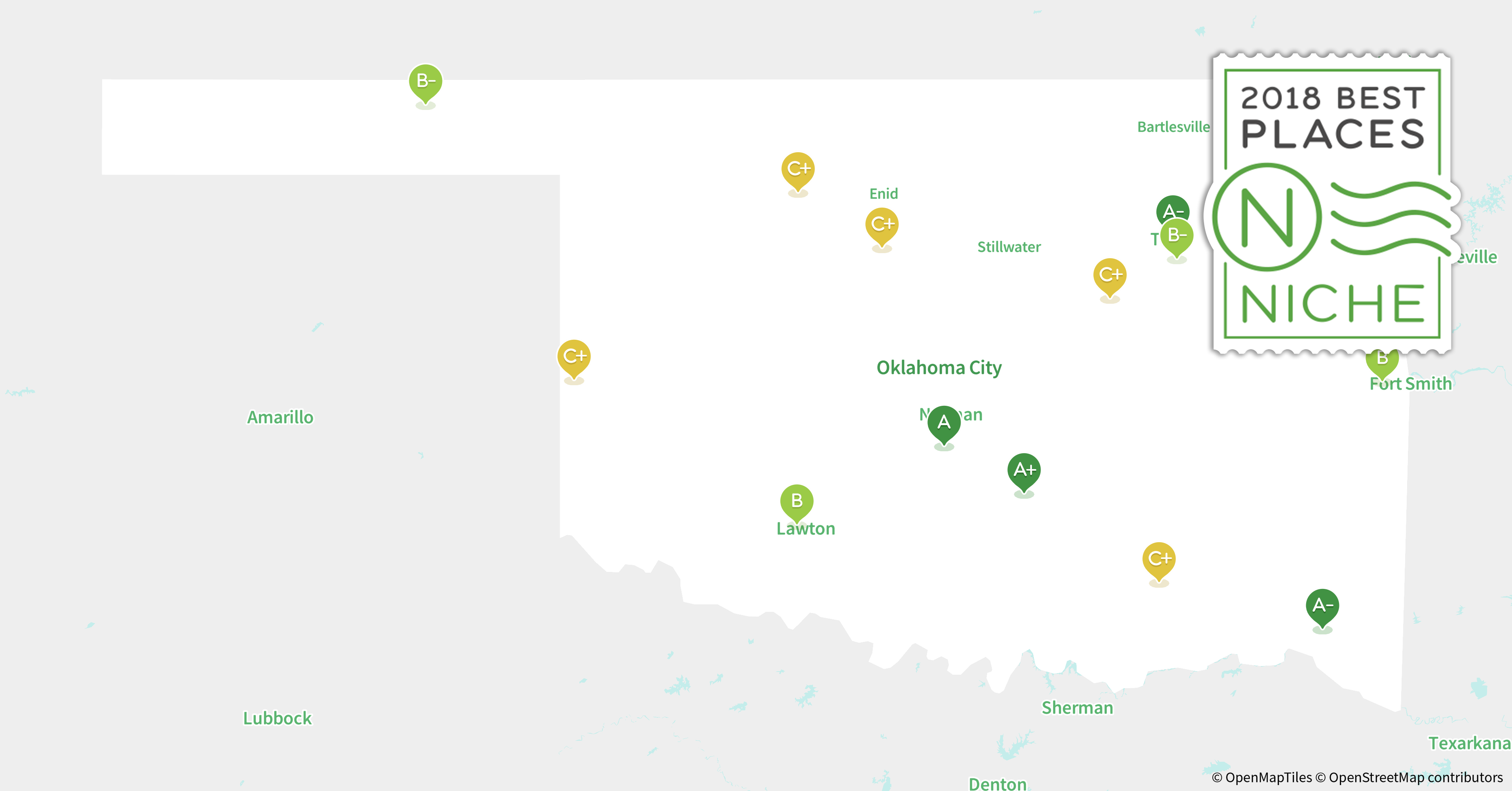 2018 best places to live in oklahoma niche