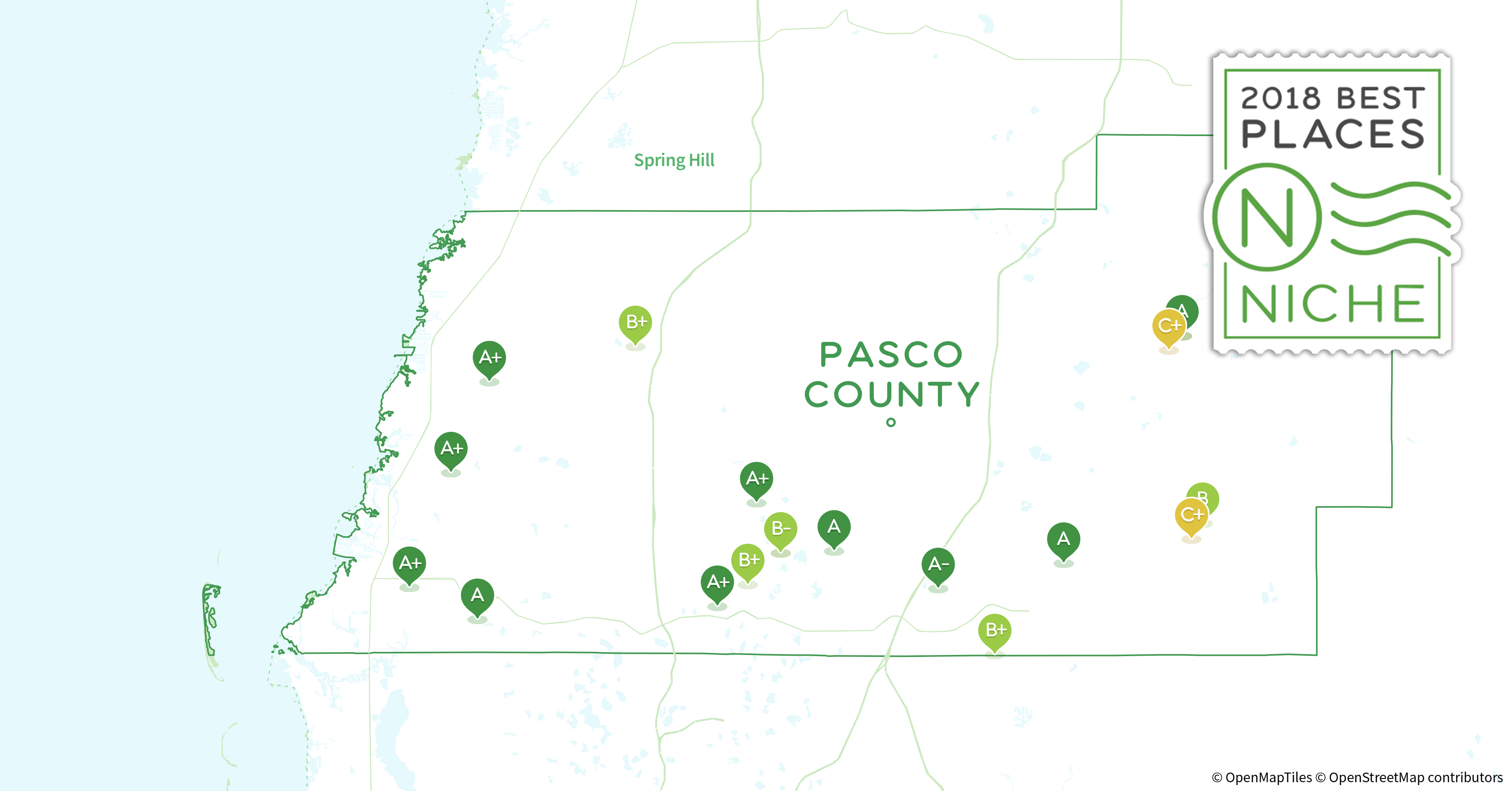 2018 Best Places to Live in Pasco County FL Niche