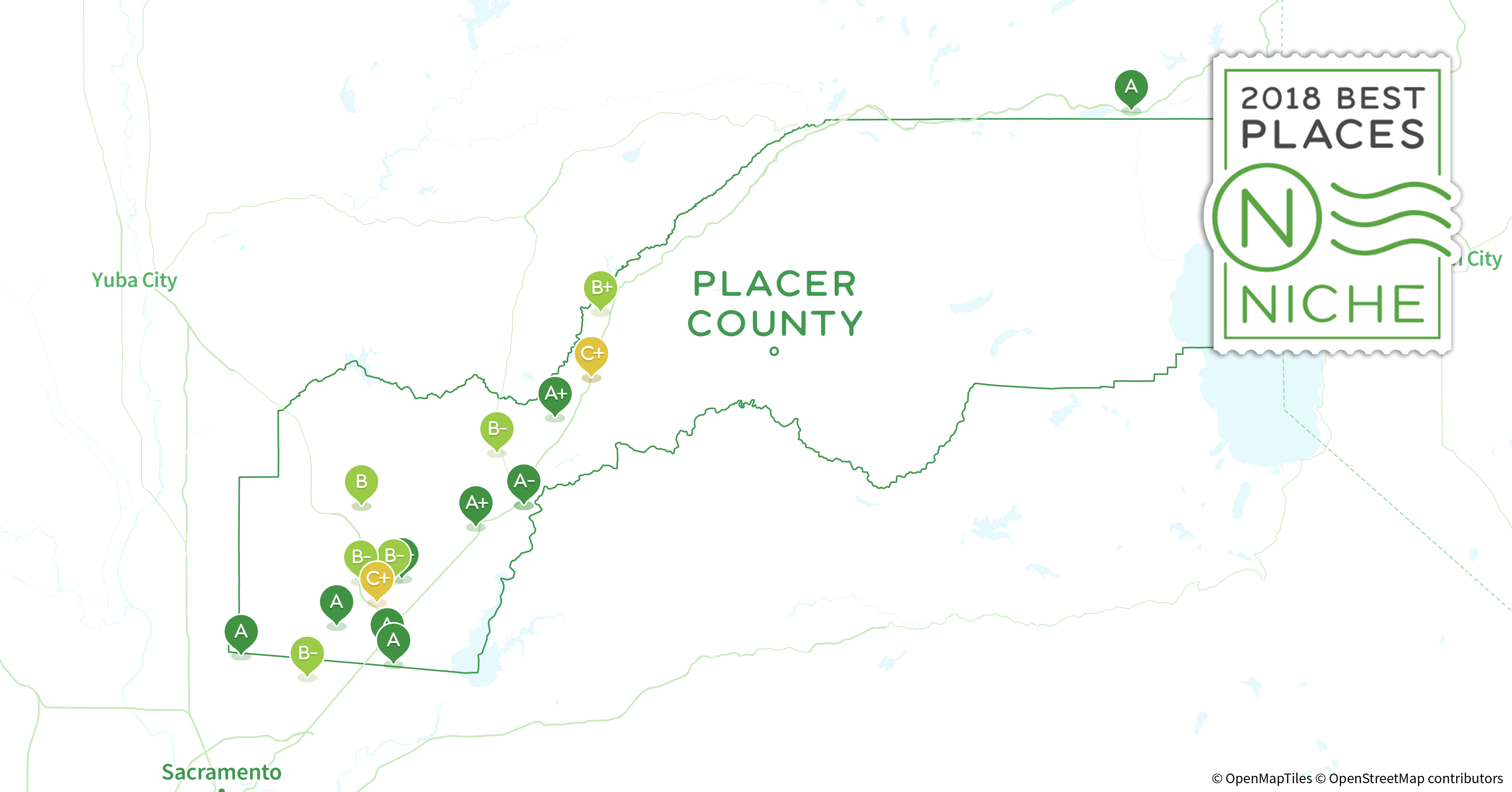2018 Best Places to Live in Placer County, CA - Niche