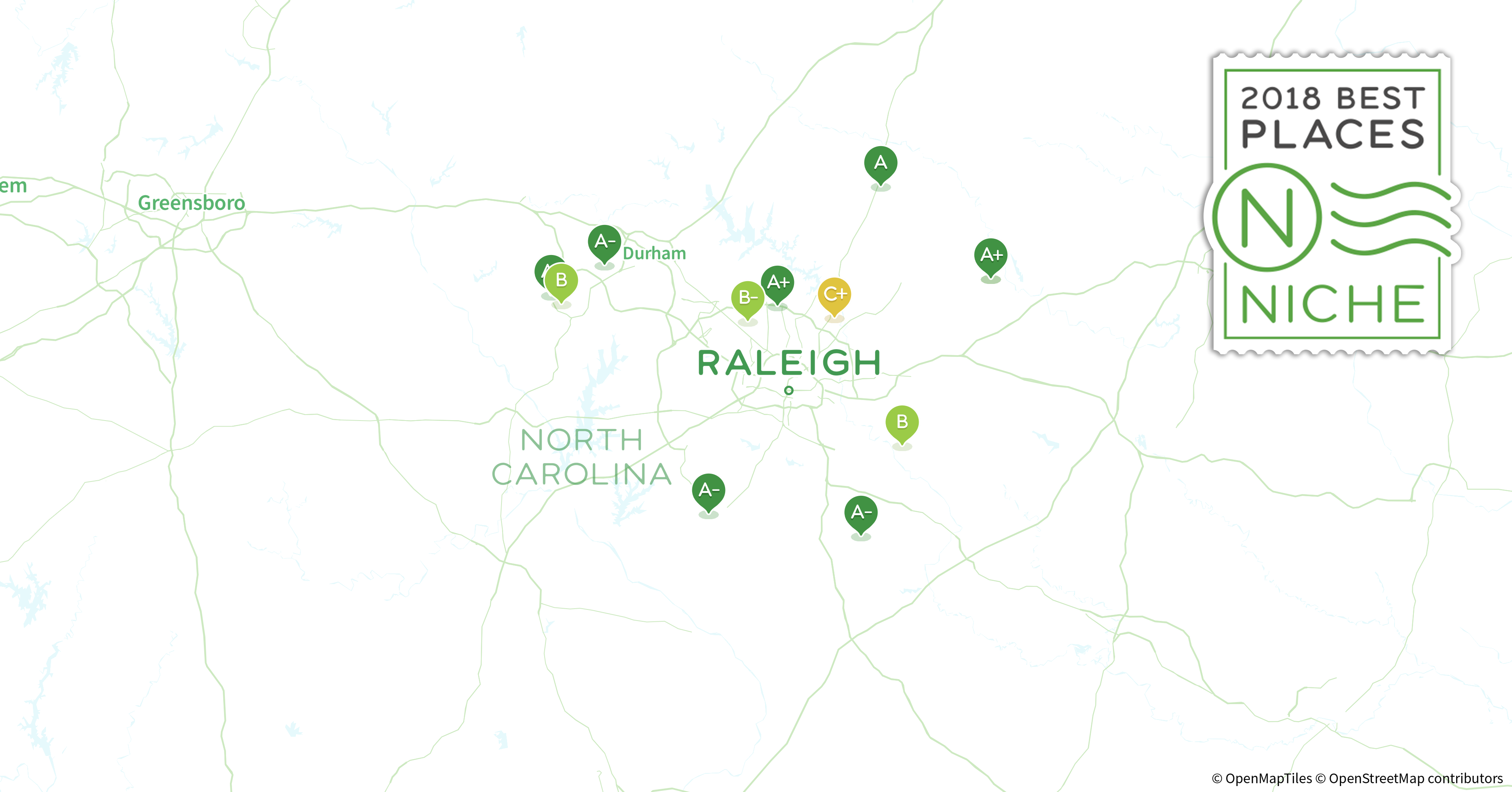 2018 Best Raleigh Area Suburbs for Families - Niche