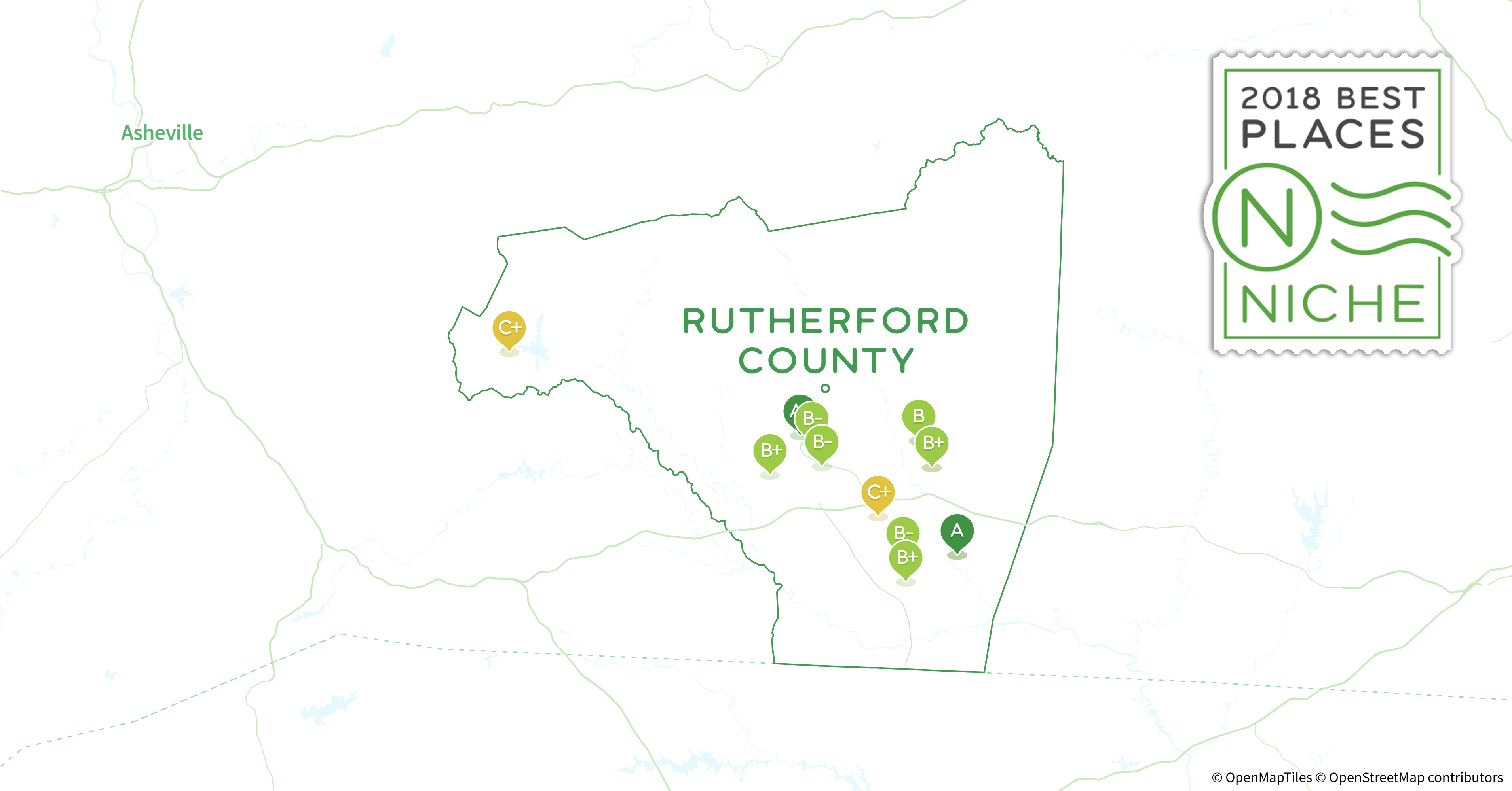 2018 Best Places To Retire In Rutherford County Nc Niche