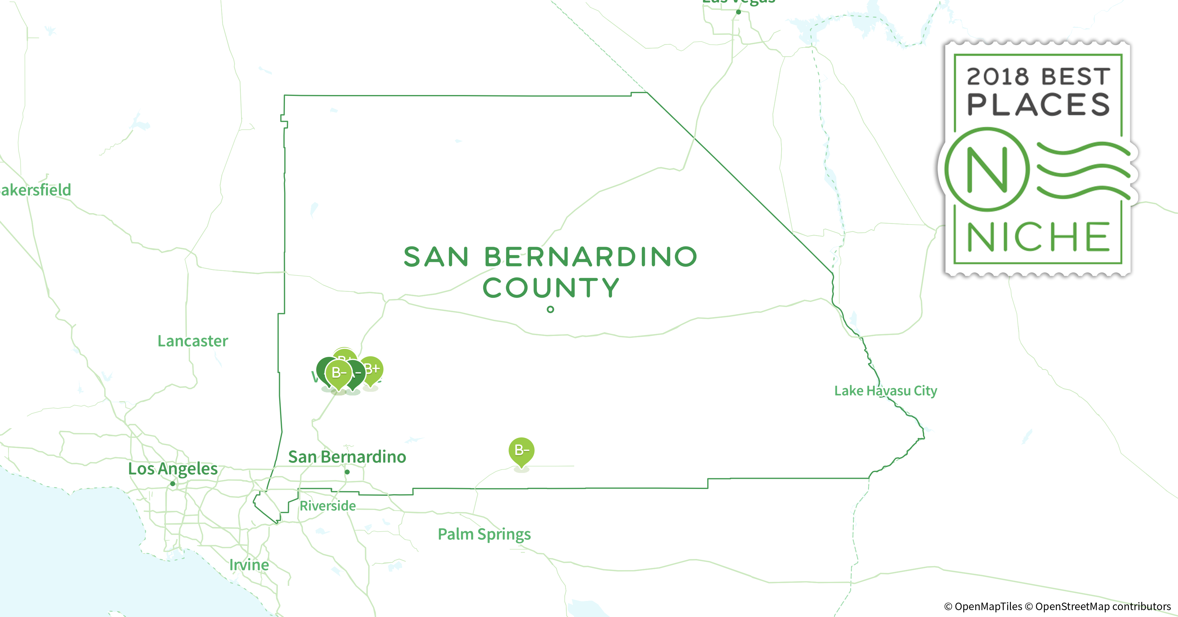 2018 Best Places To Live In San Bernardino County Ca Niche