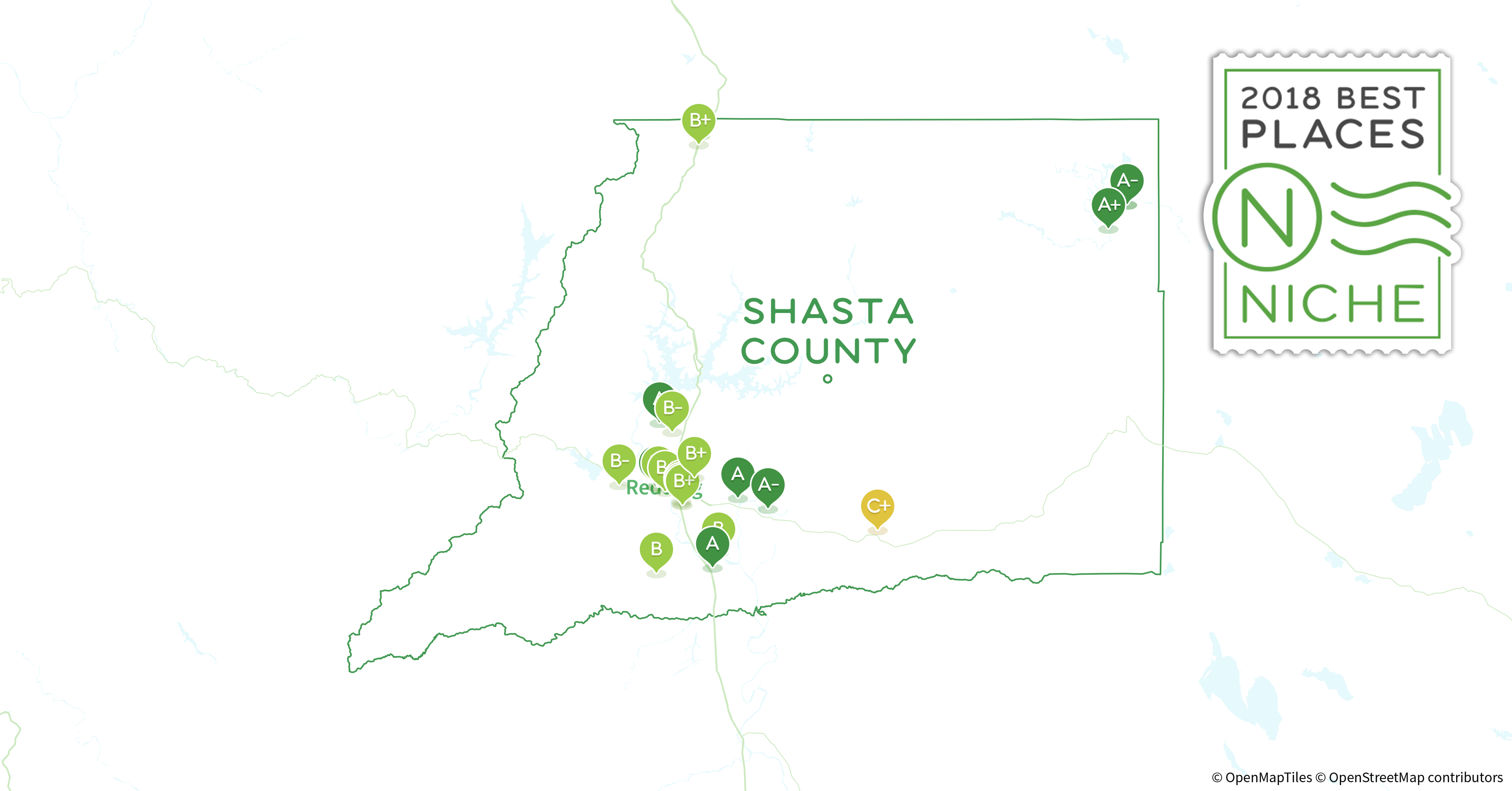 2018 Best Places to Live in Shasta County, CA - Niche