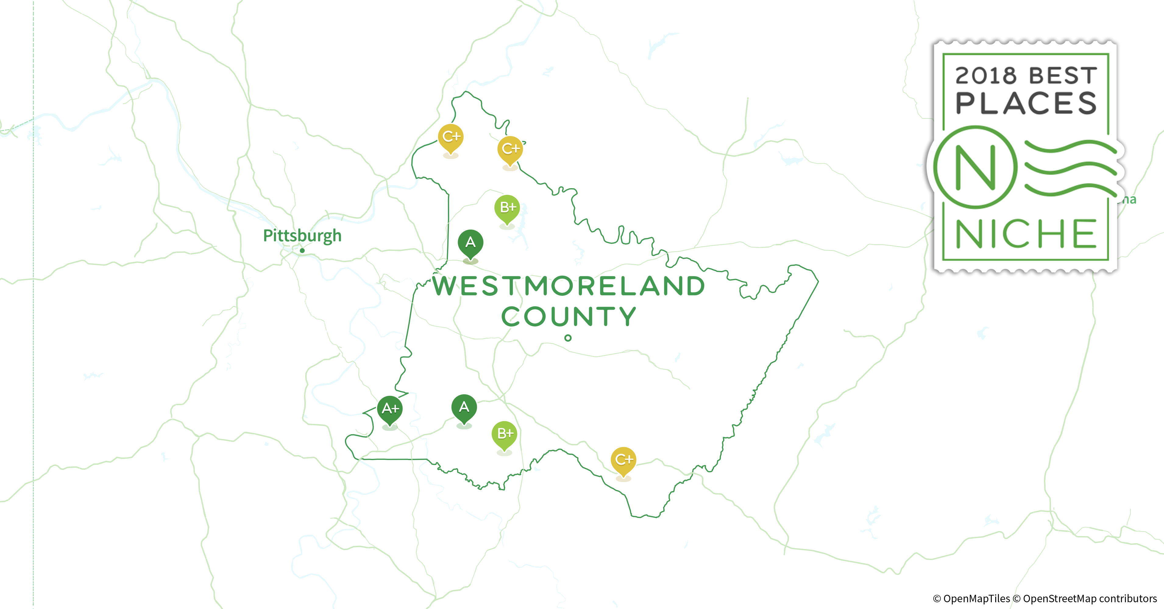 2018 Best Places To Live In Westmoreland County Pa Niche