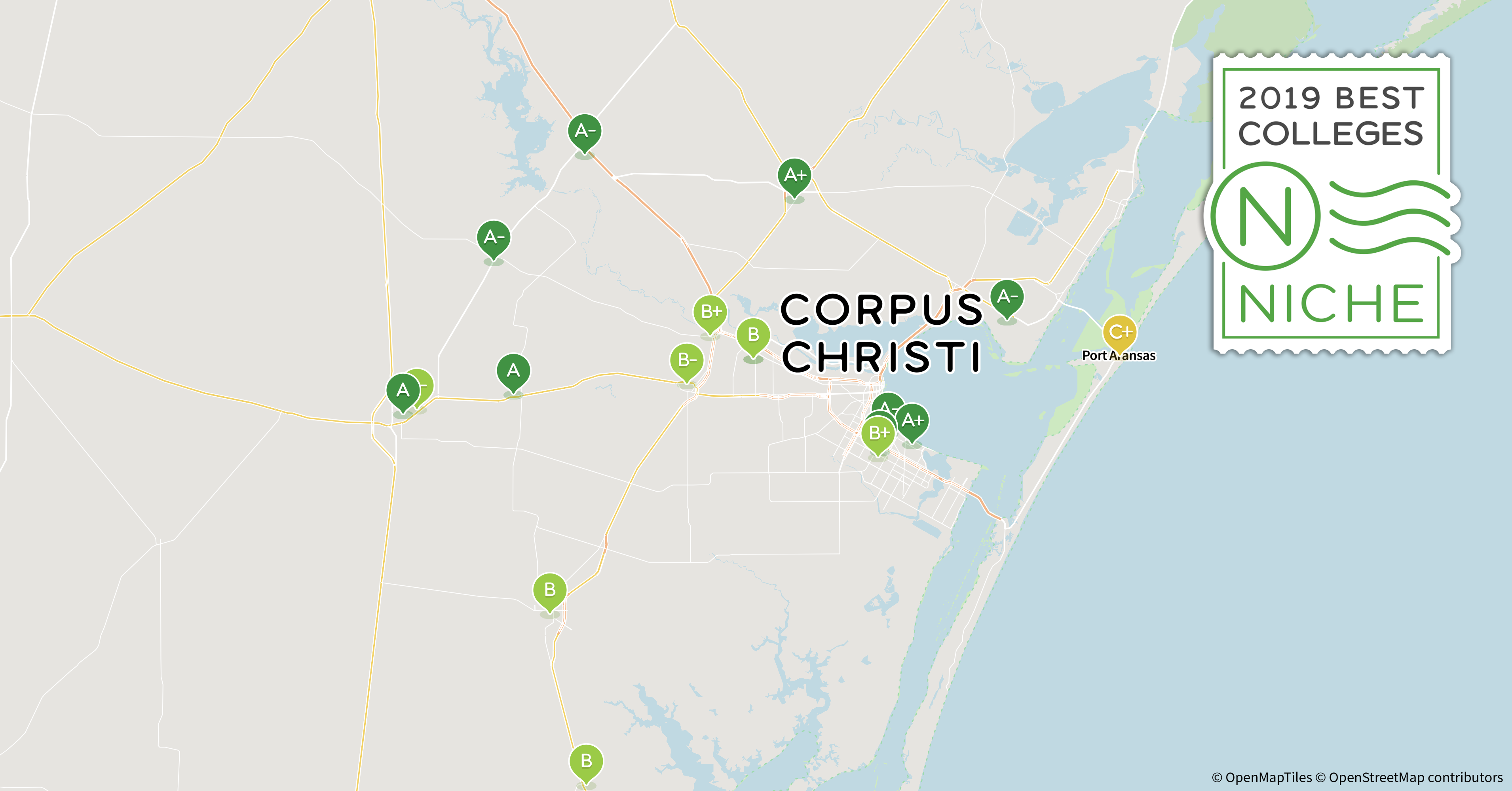 2019 Best Business s in Corpus Christi Area - Niche Tamuk Campus Map Key on