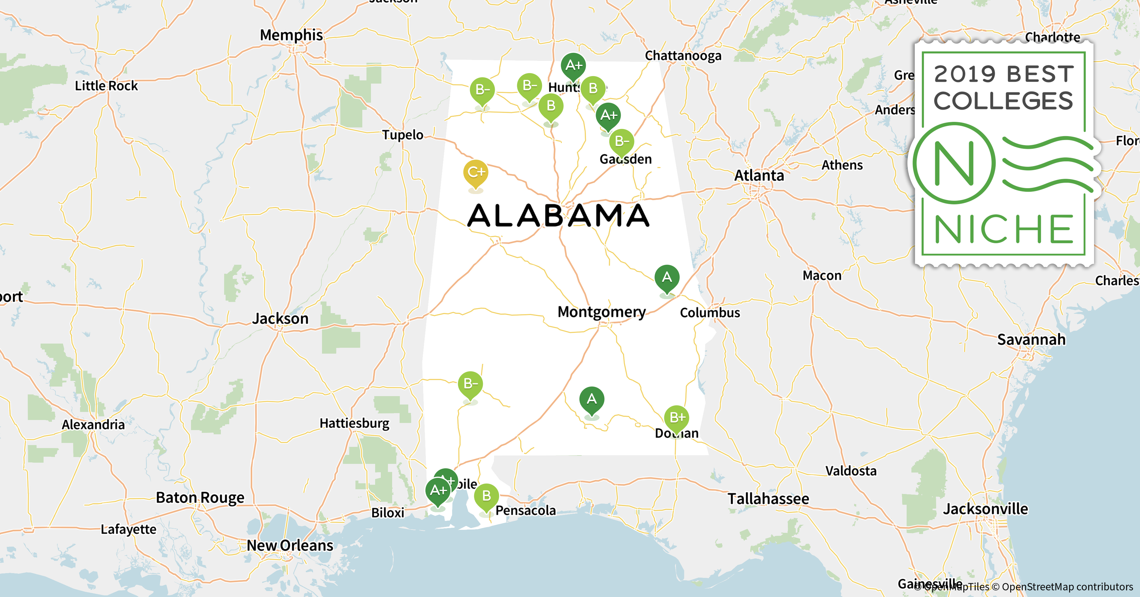 2019 Best Community Colleges In Alabama Niche
