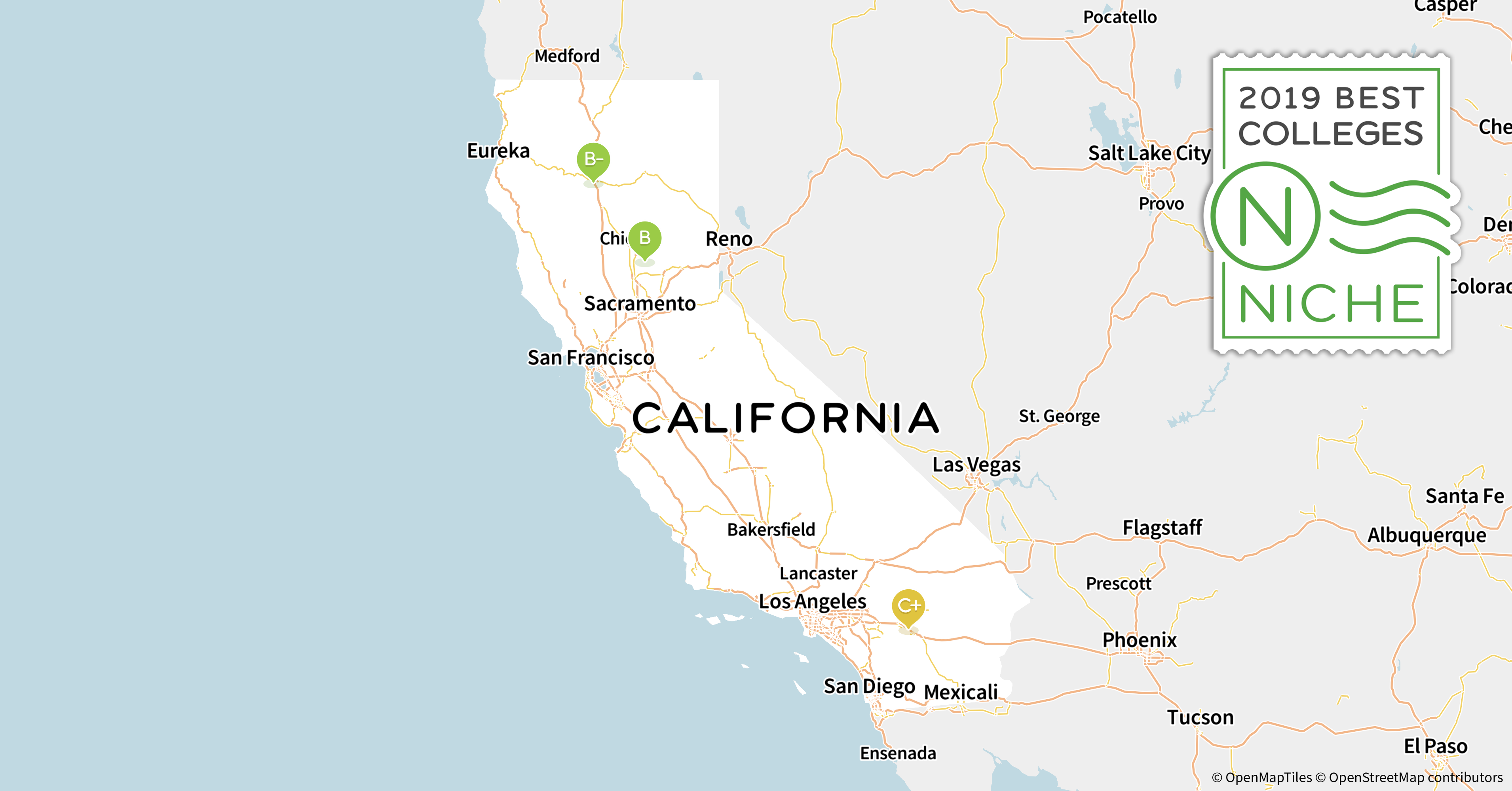 2019 Best Colleges in California - Niche