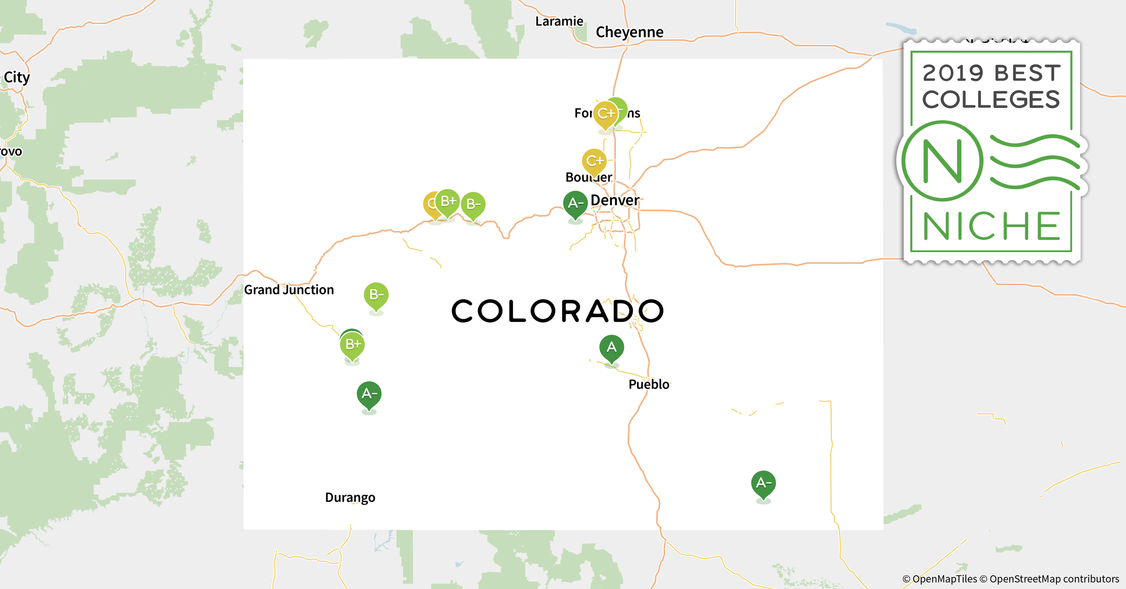 Colorado Christian University Campus Map.2019 Best Colleges In Colorado Niche