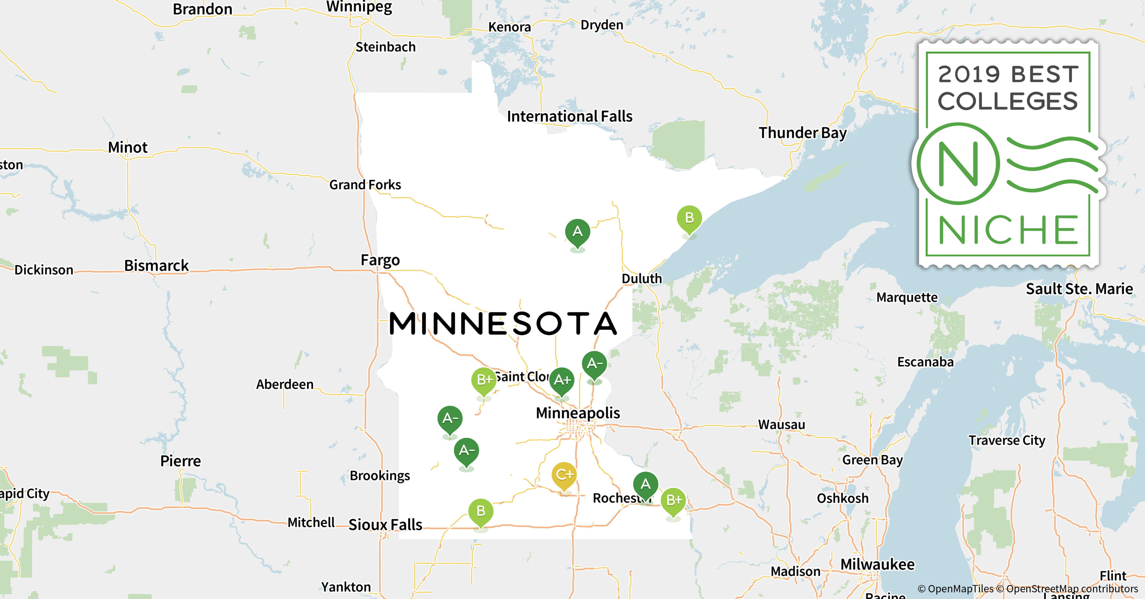 2019 Best Colleges in Minnesota - Niche