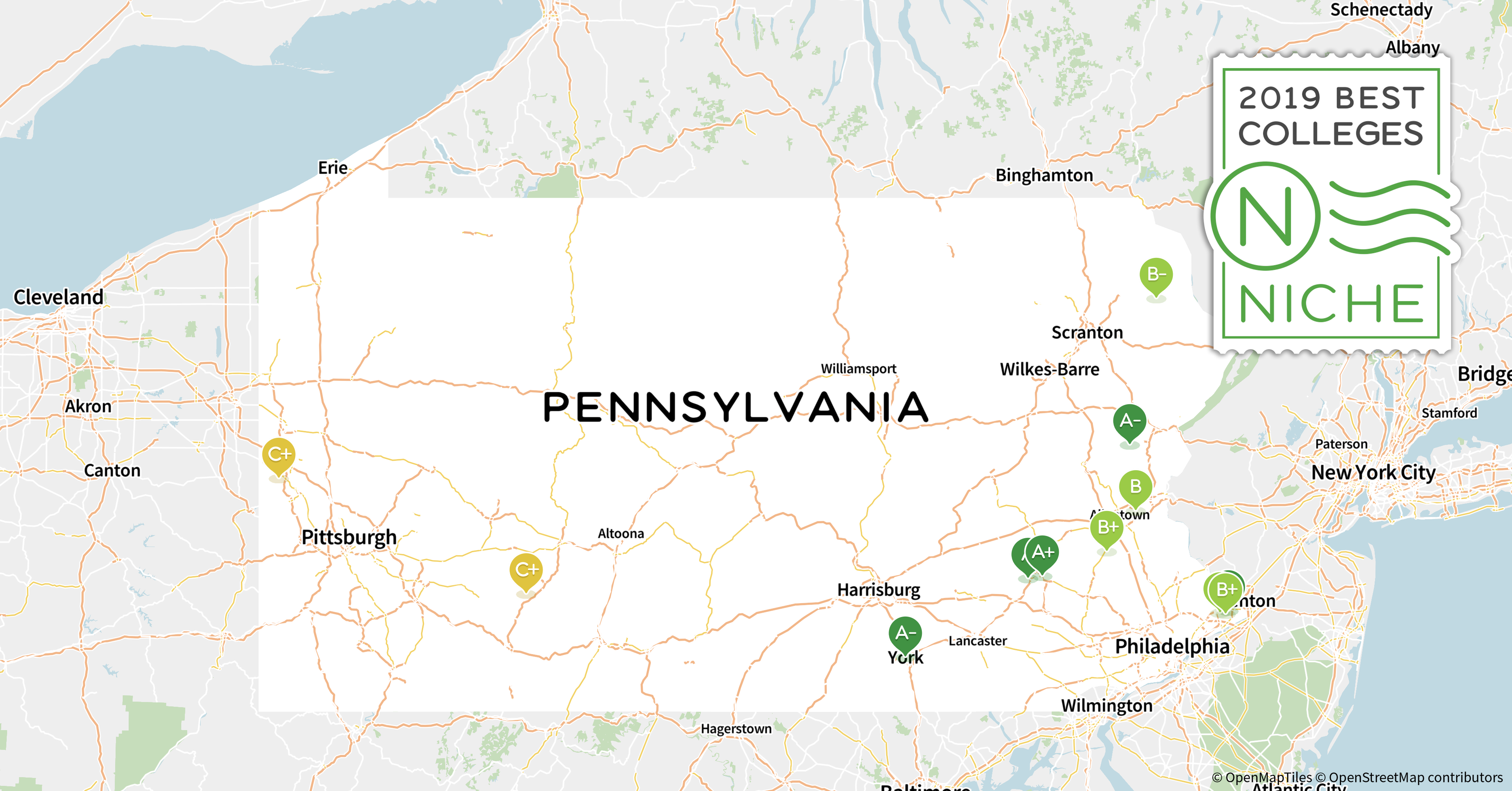 2019 Top Party Schools In Pennsylvania Niche