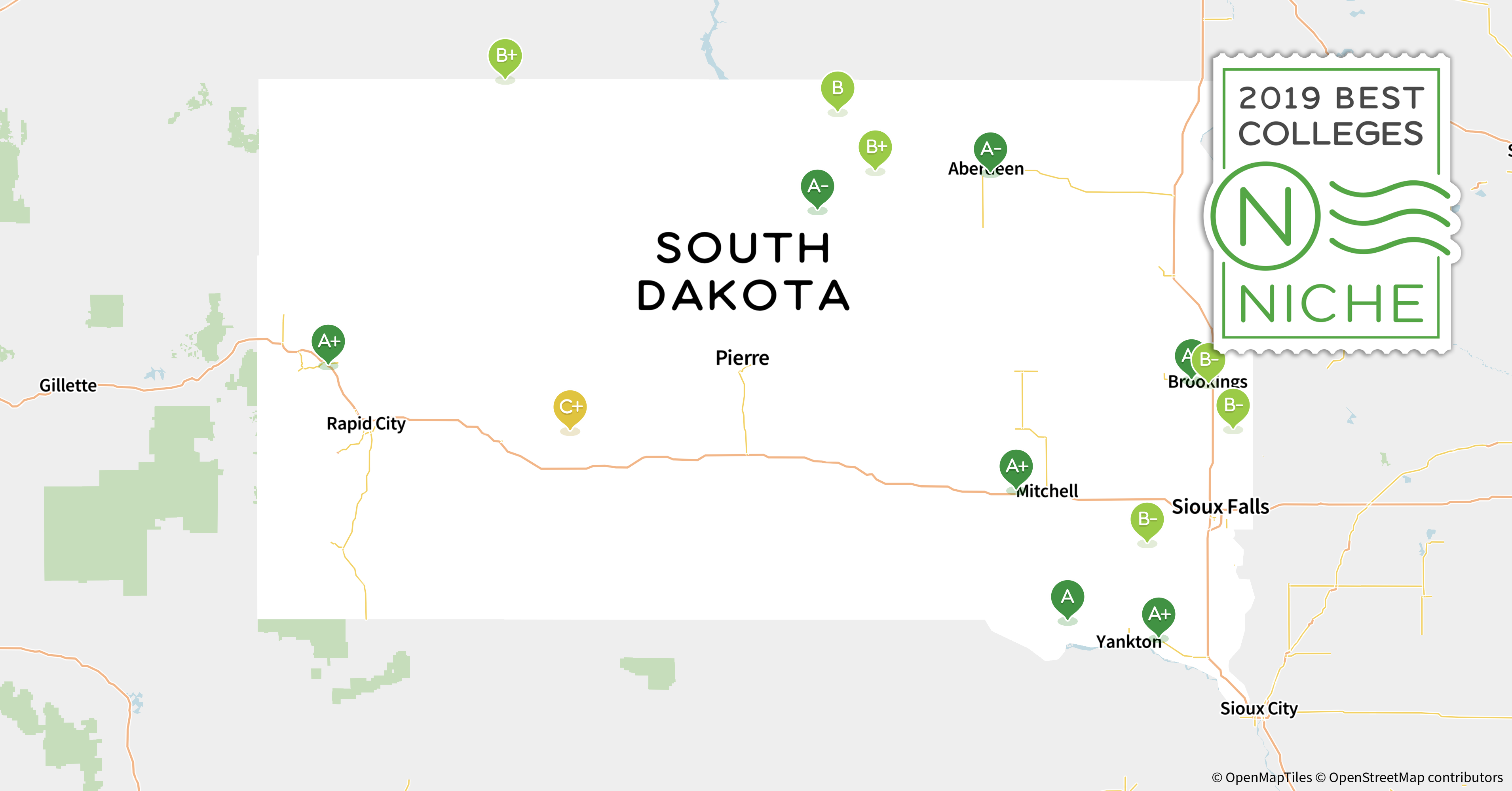 2019 Best Colleges in South Dakota - Niche
