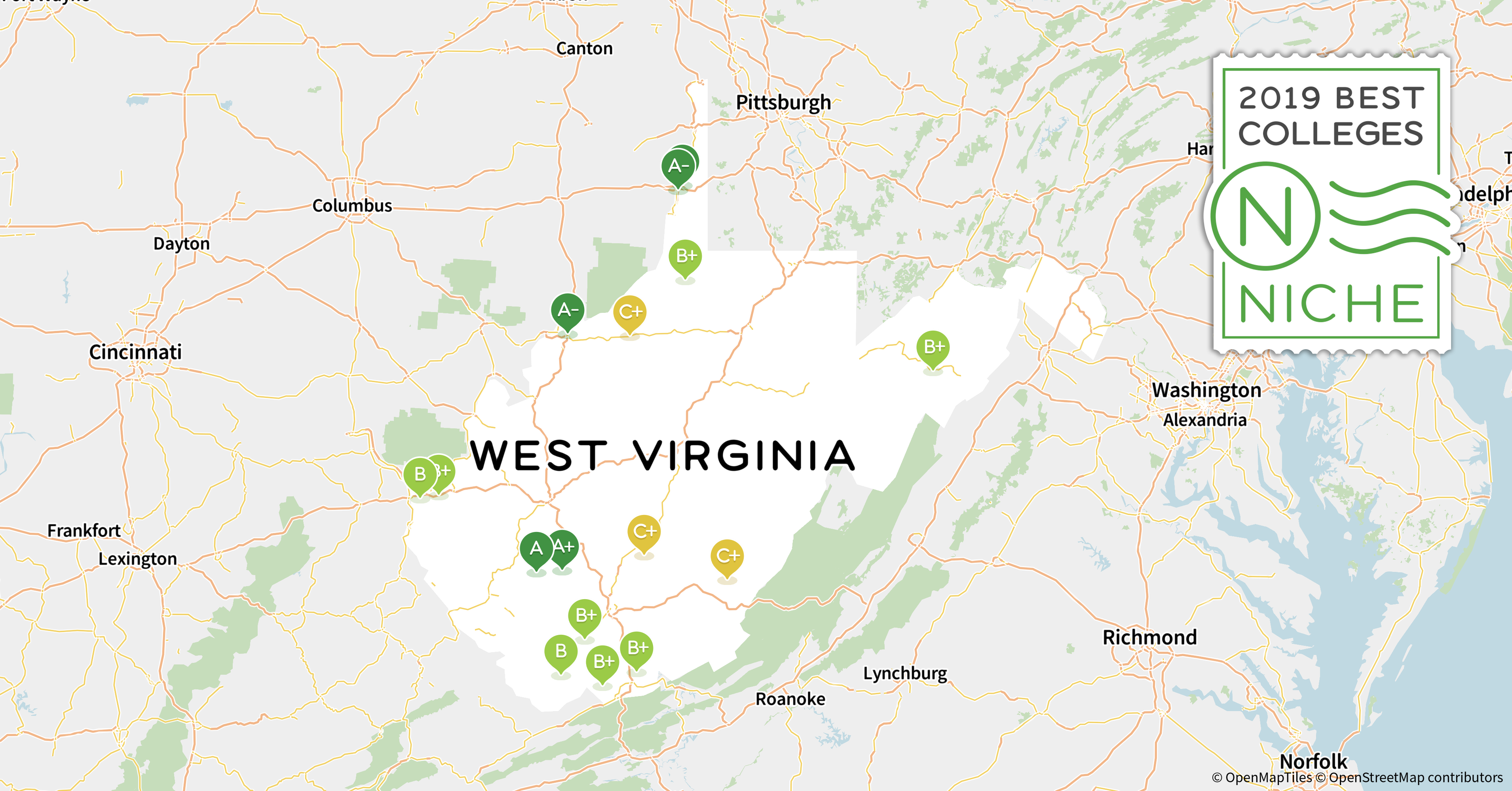 2019 Best College Dorms In West Virginia Niche