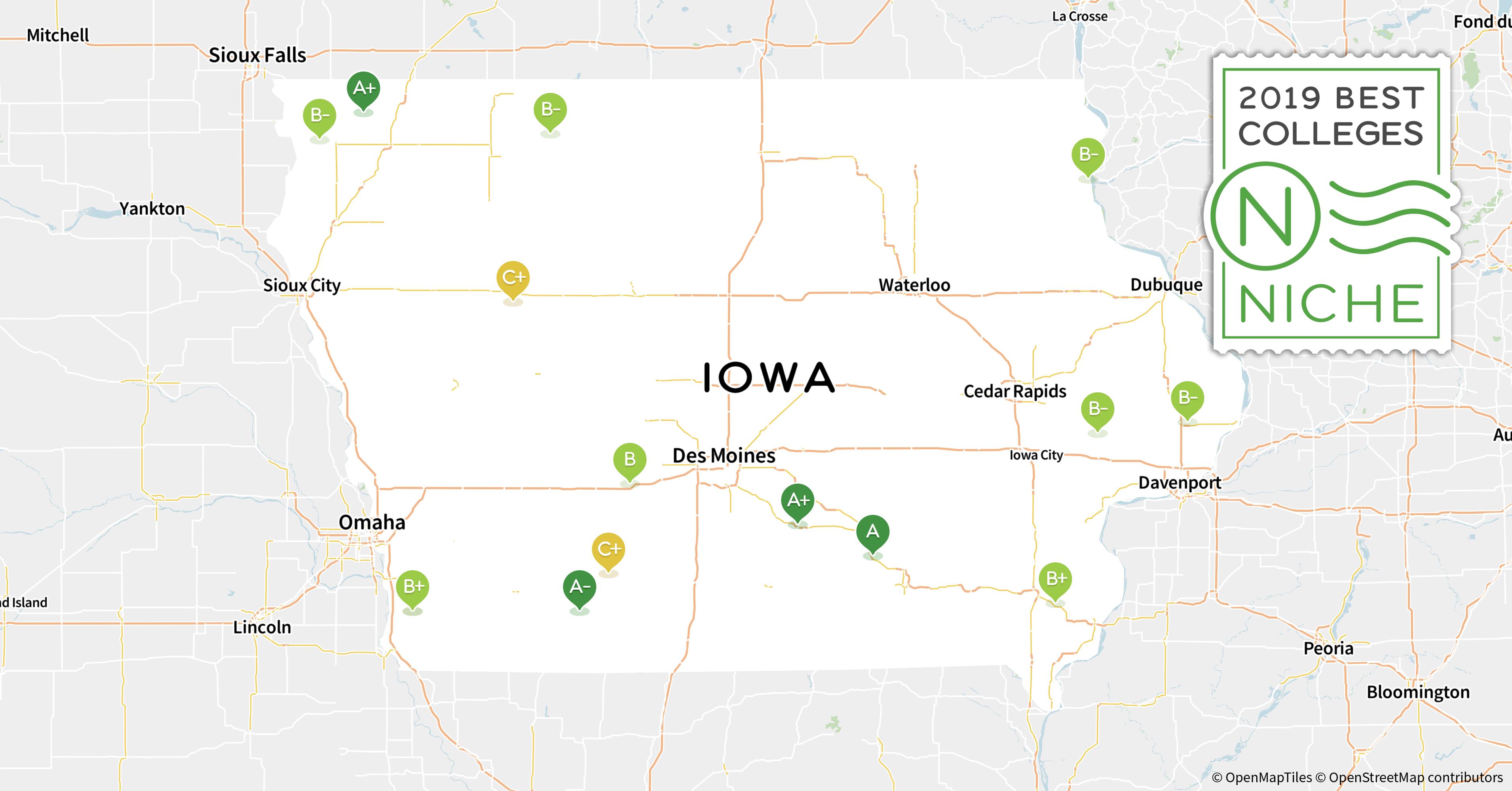 2019 Top Graduate Programs in Iowa - Niche