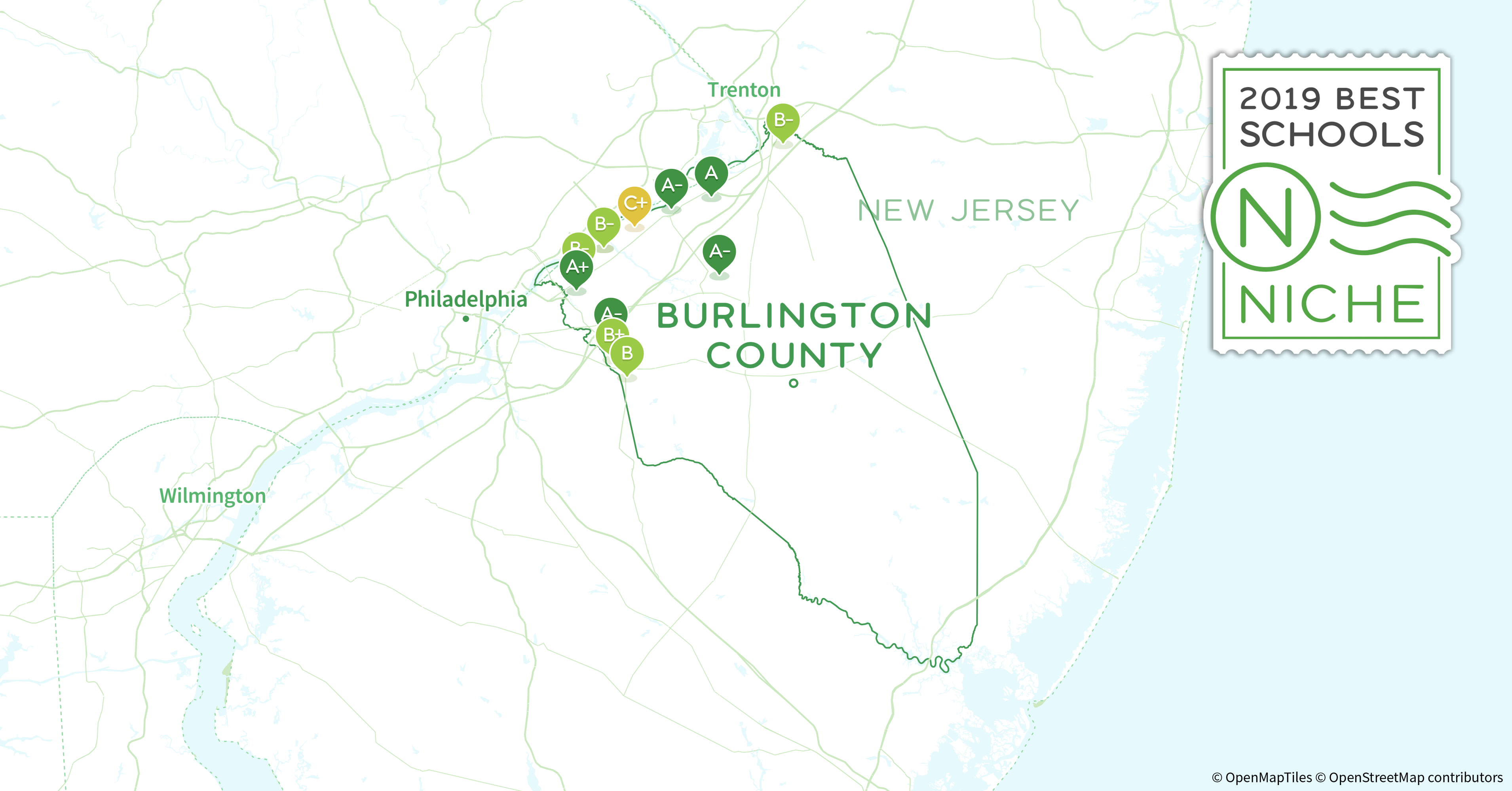 Districts in Burlington County, NJ - Niche on
