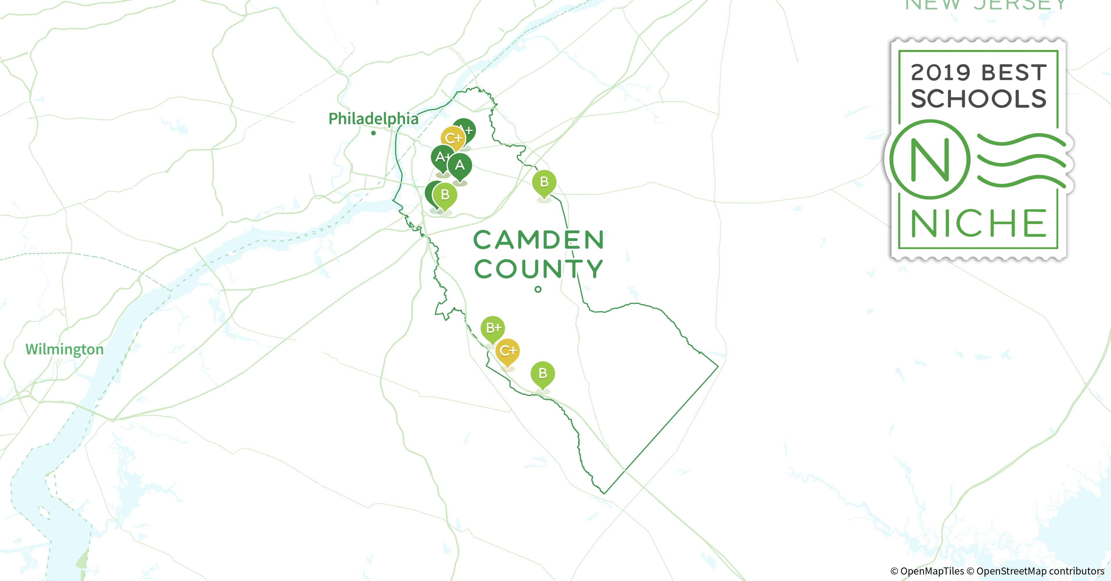 Cherry Hill Nj Zip Code Map.2019 Best Public High Schools In Camden County Nj Niche