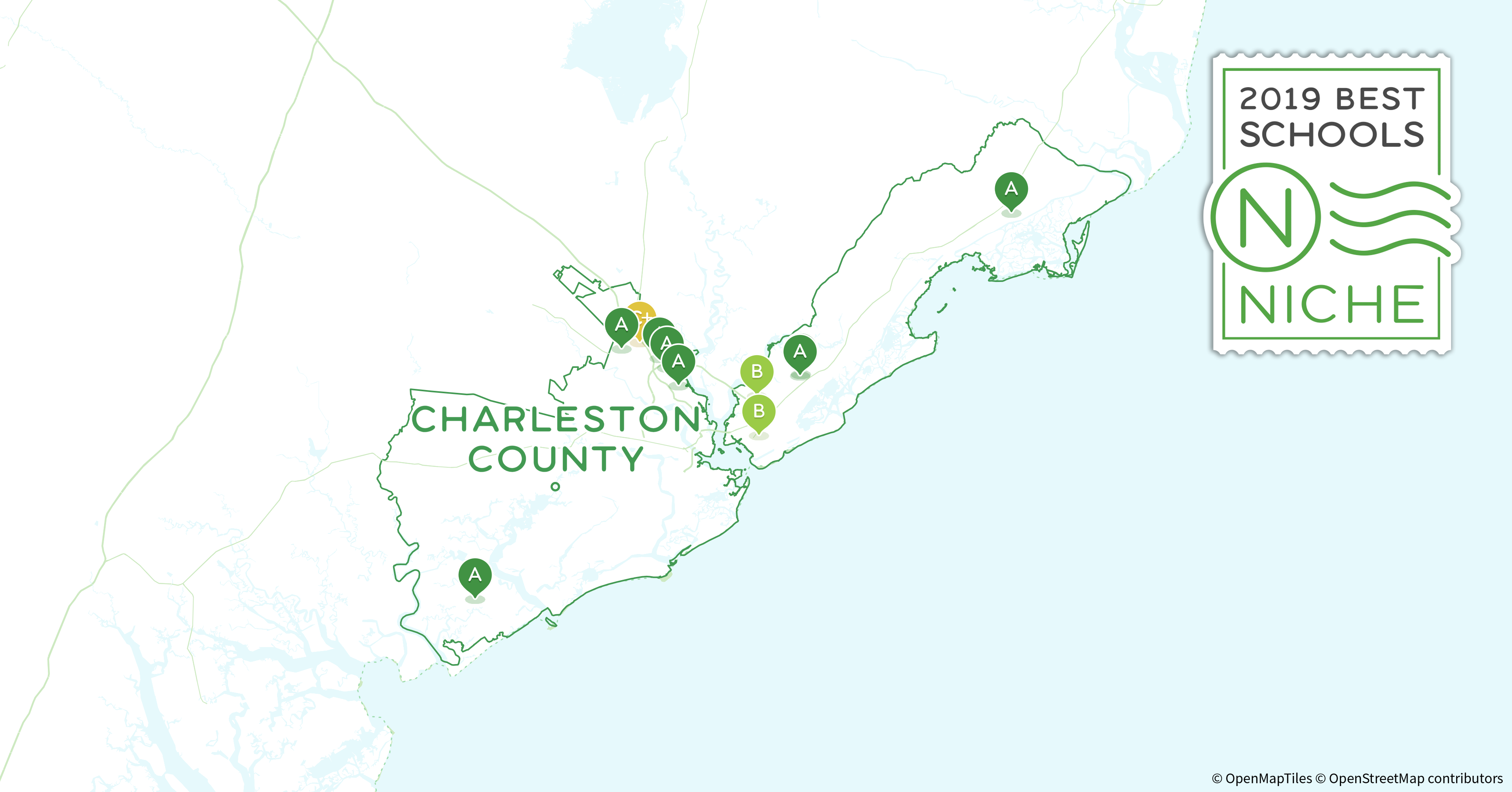 Mount Pleasant Sc Zip Code Map.2019 Best Private High Schools In Charleston County Sc Niche