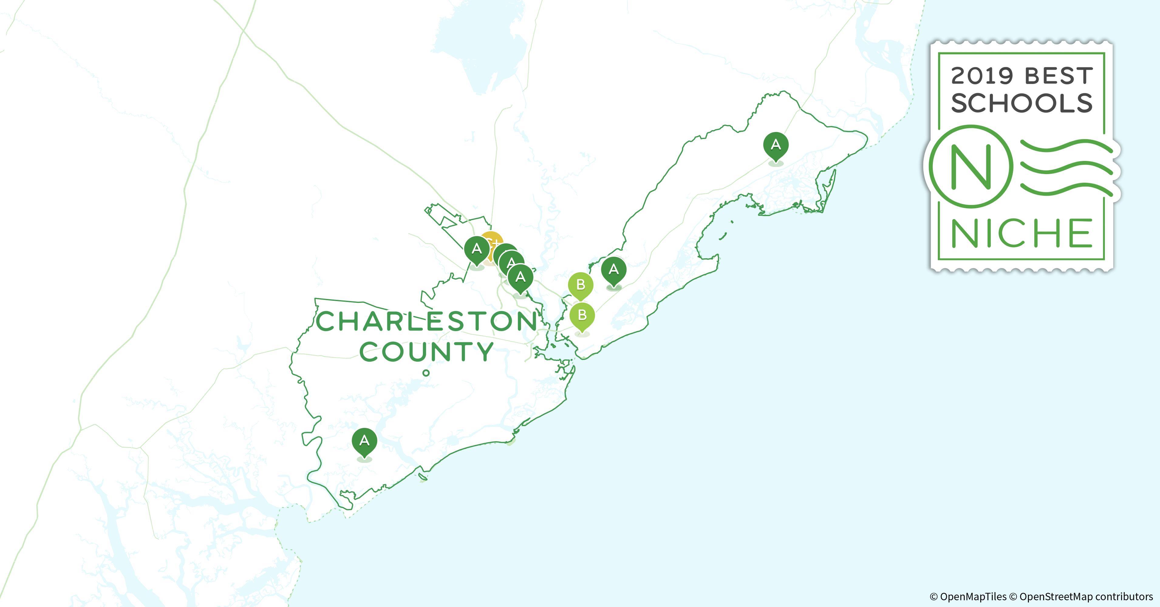 Mount Pleasant Sc Zip Code Map.2019 Best Private High Schools In Charleston County Sc Niche