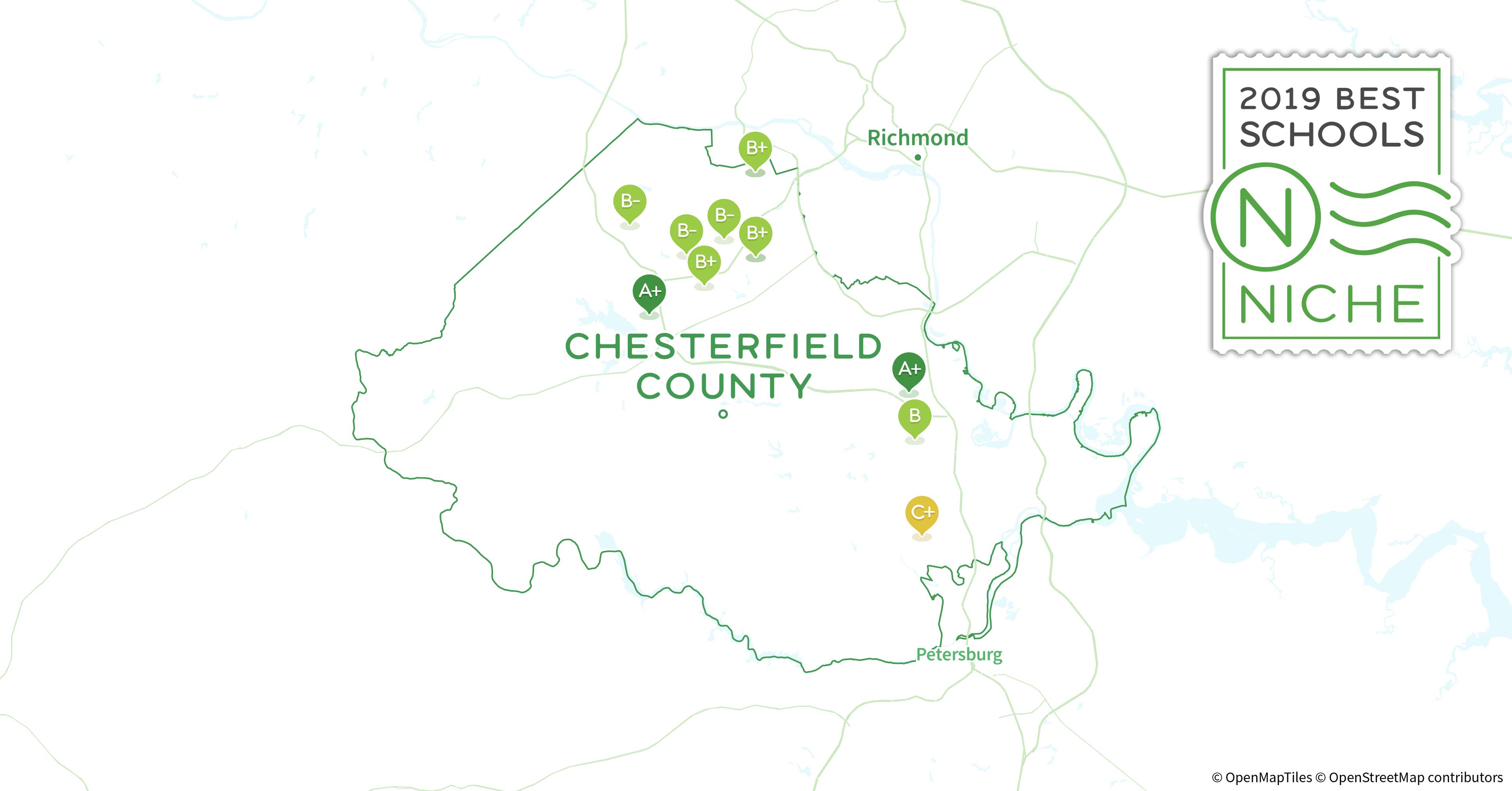 2019 Best Public High Schools In Chesterfield County Va Niche