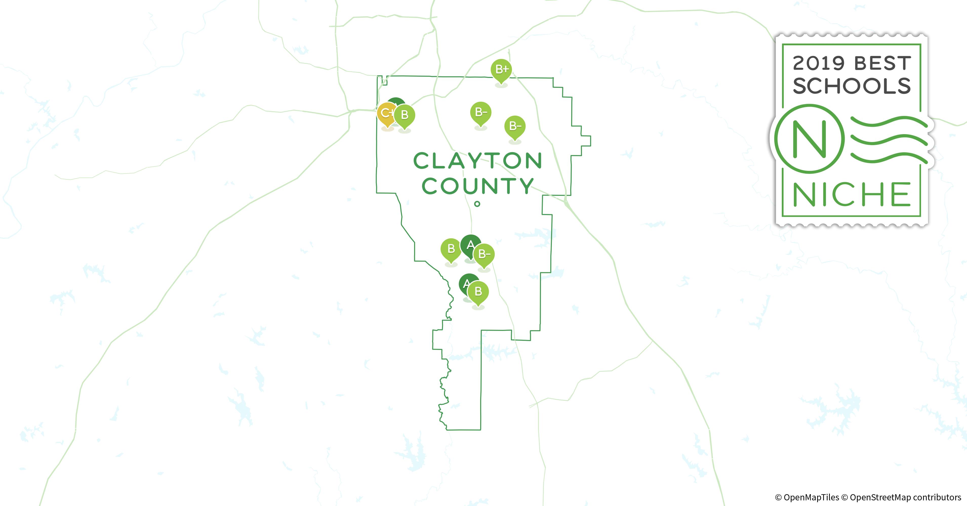 Map Of Jonesboro Georgia.2019 Best Private High Schools In Clayton County Ga Niche