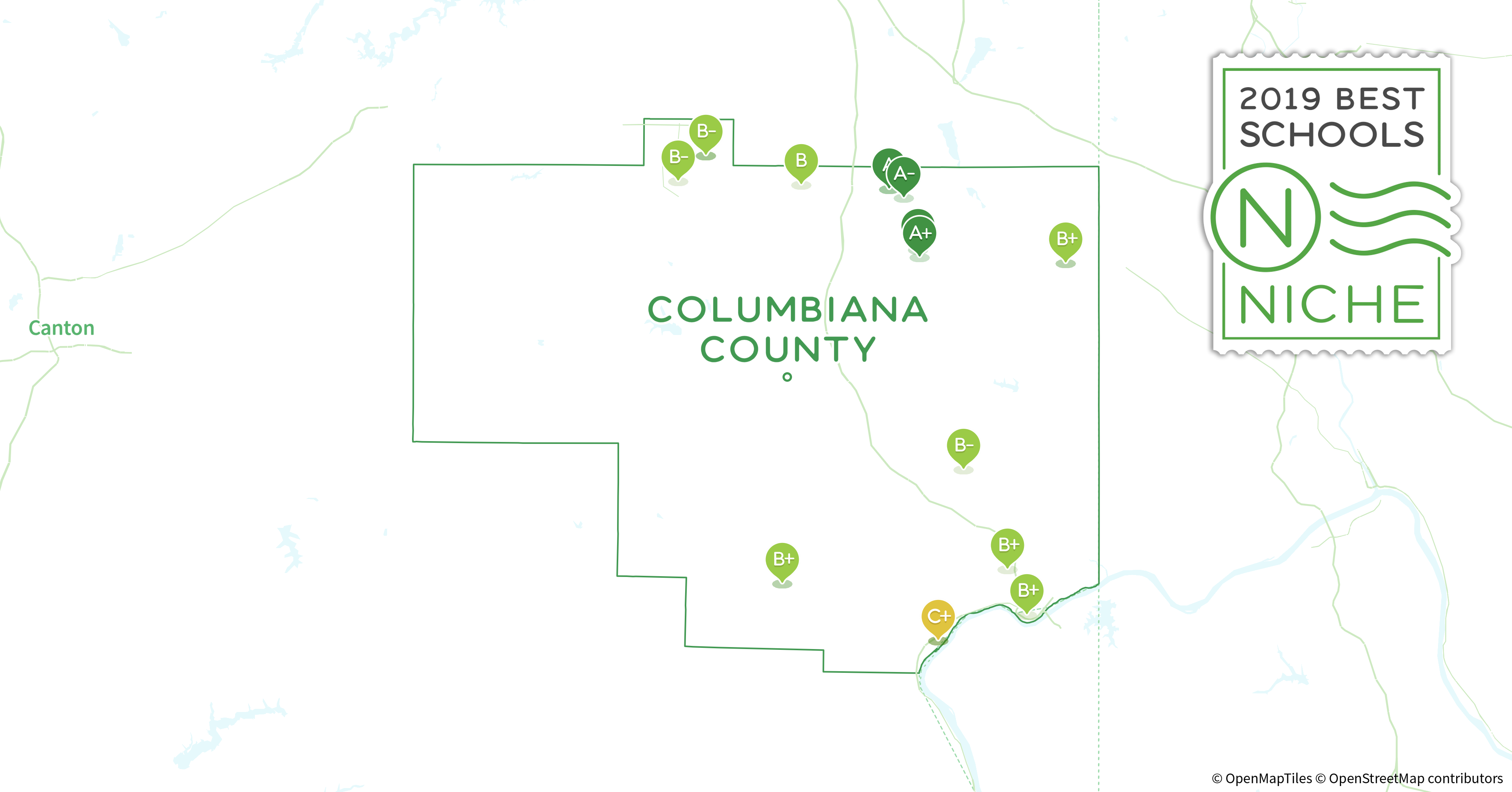 School Districts In Columbiana County Oh Niche