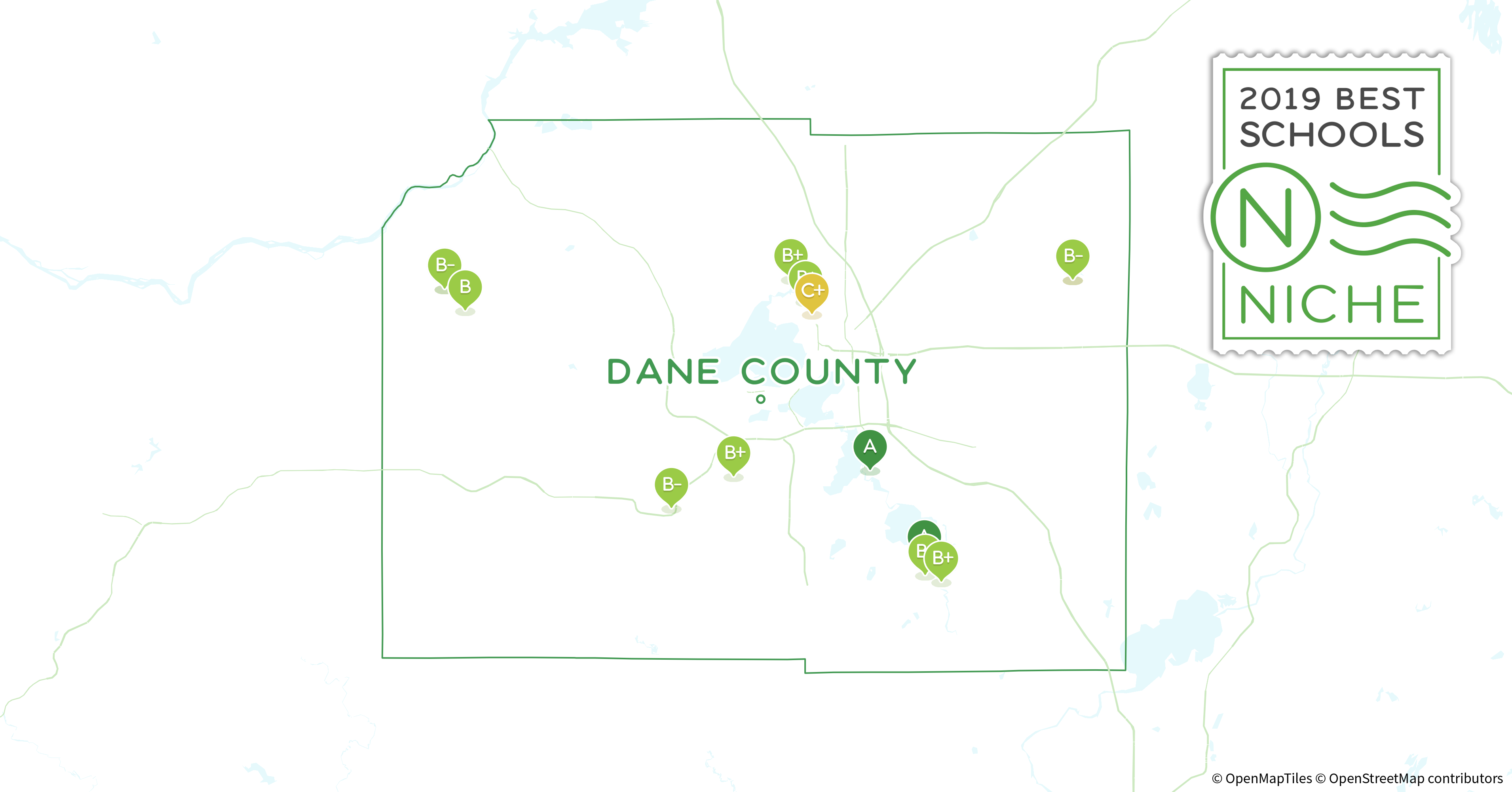 Districts in Dane County, WI - Niche on