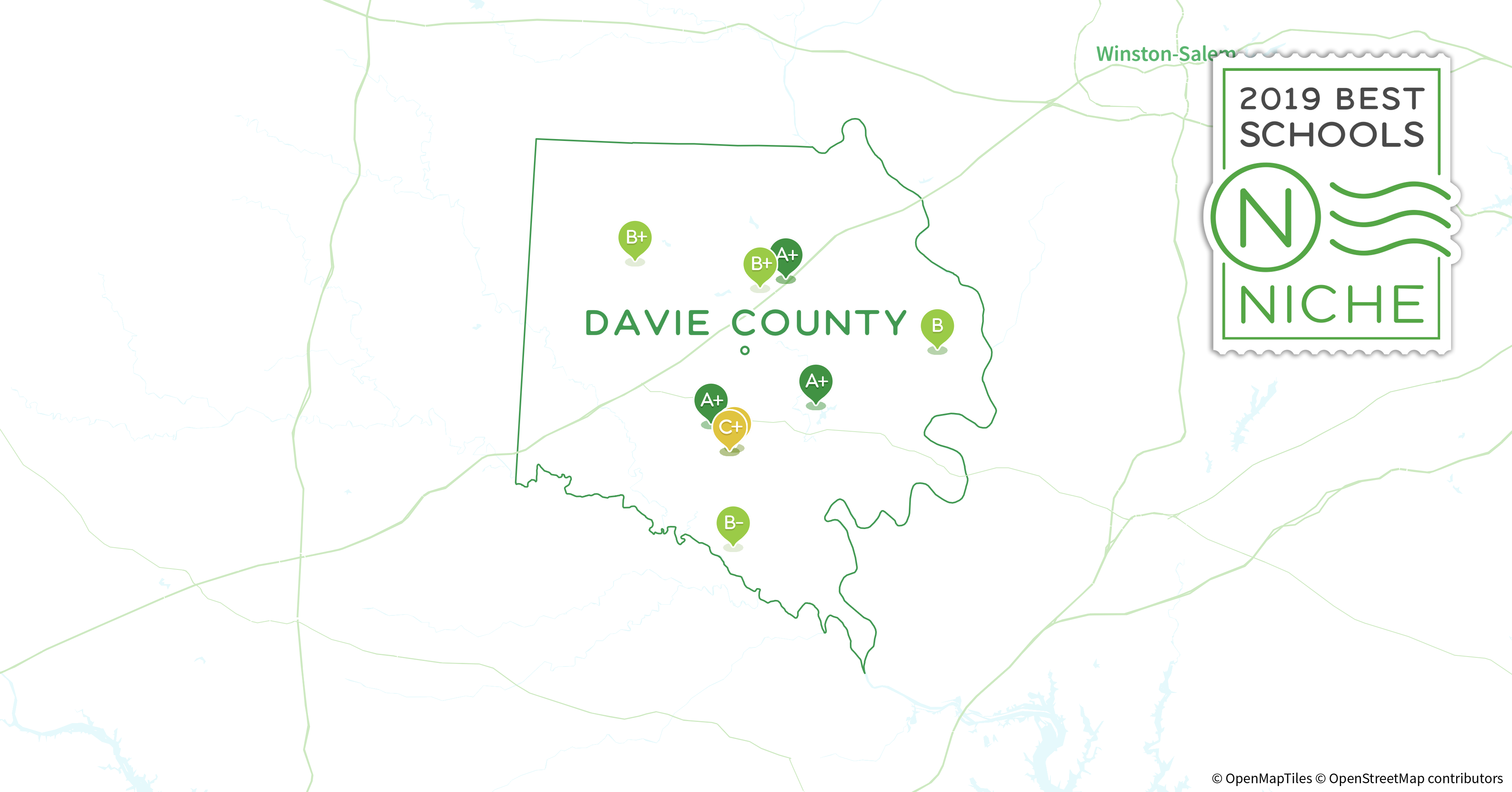 2019 Best Public Elementary Schools In Davie County Nc Niche