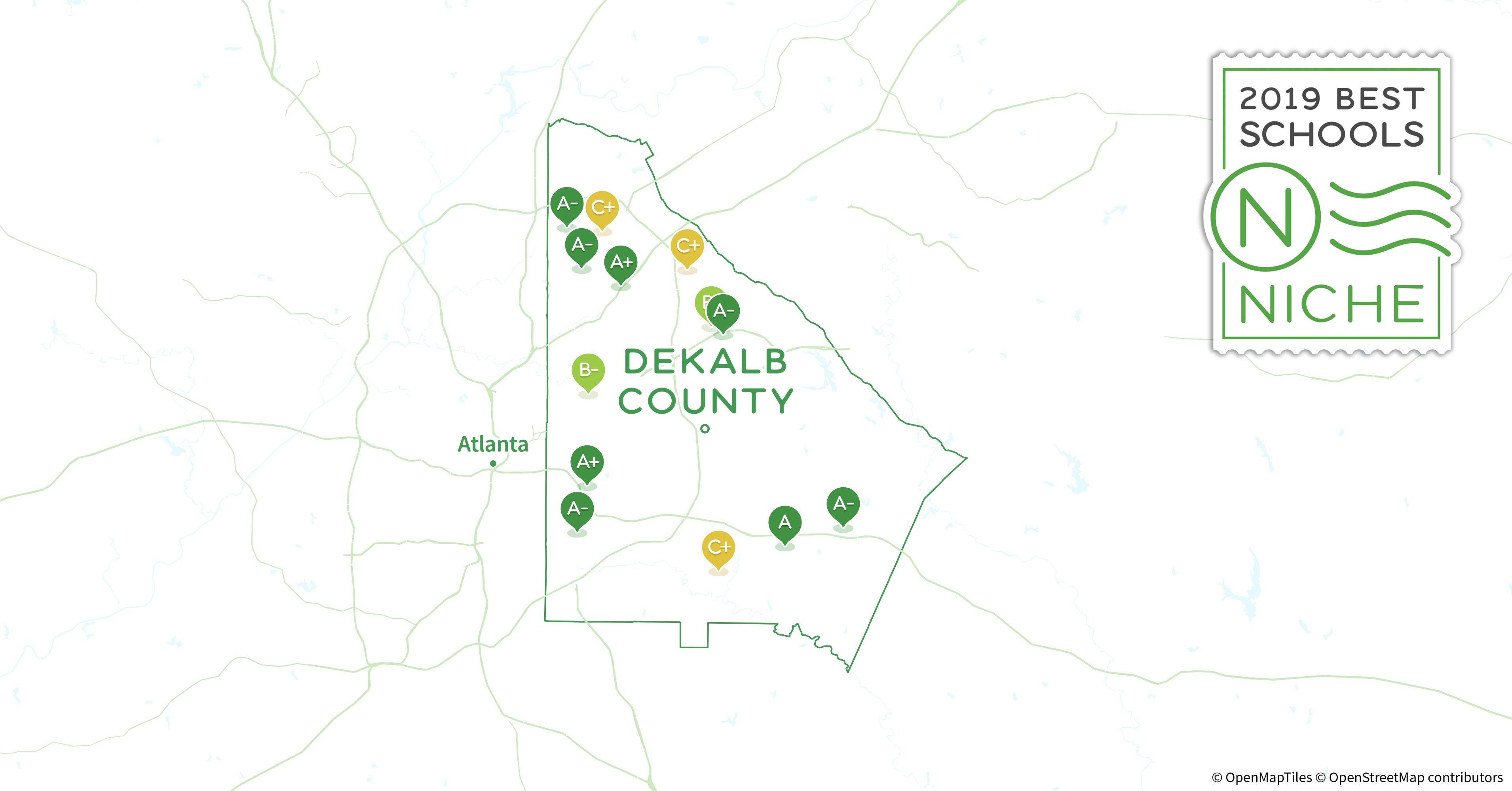 Dekalb Zip Code Map.2019 Best Public Elementary Schools In Dekalb County Ga Niche