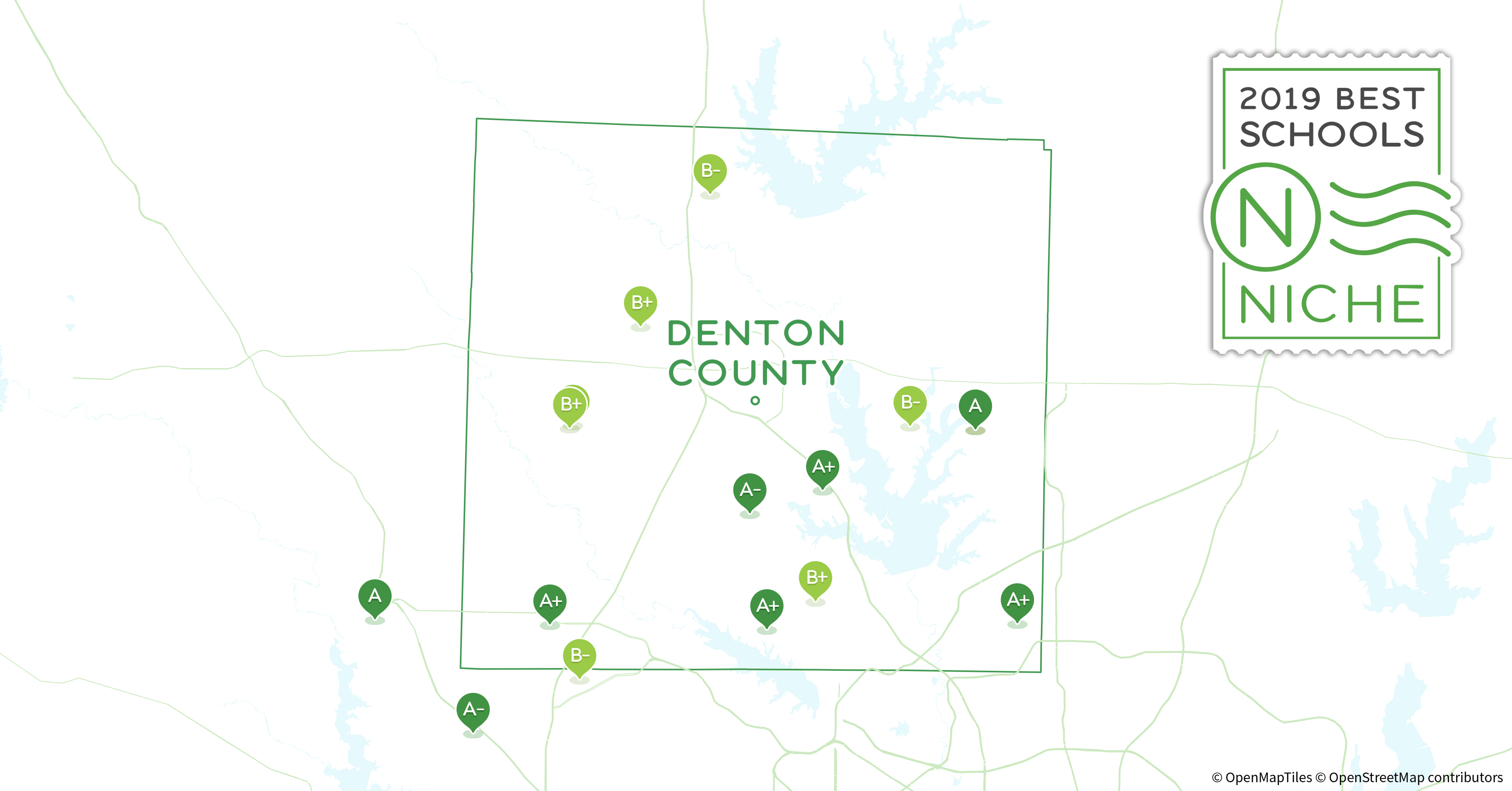 Denton Ohio Map.Private Schools In Denton County Tx Niche