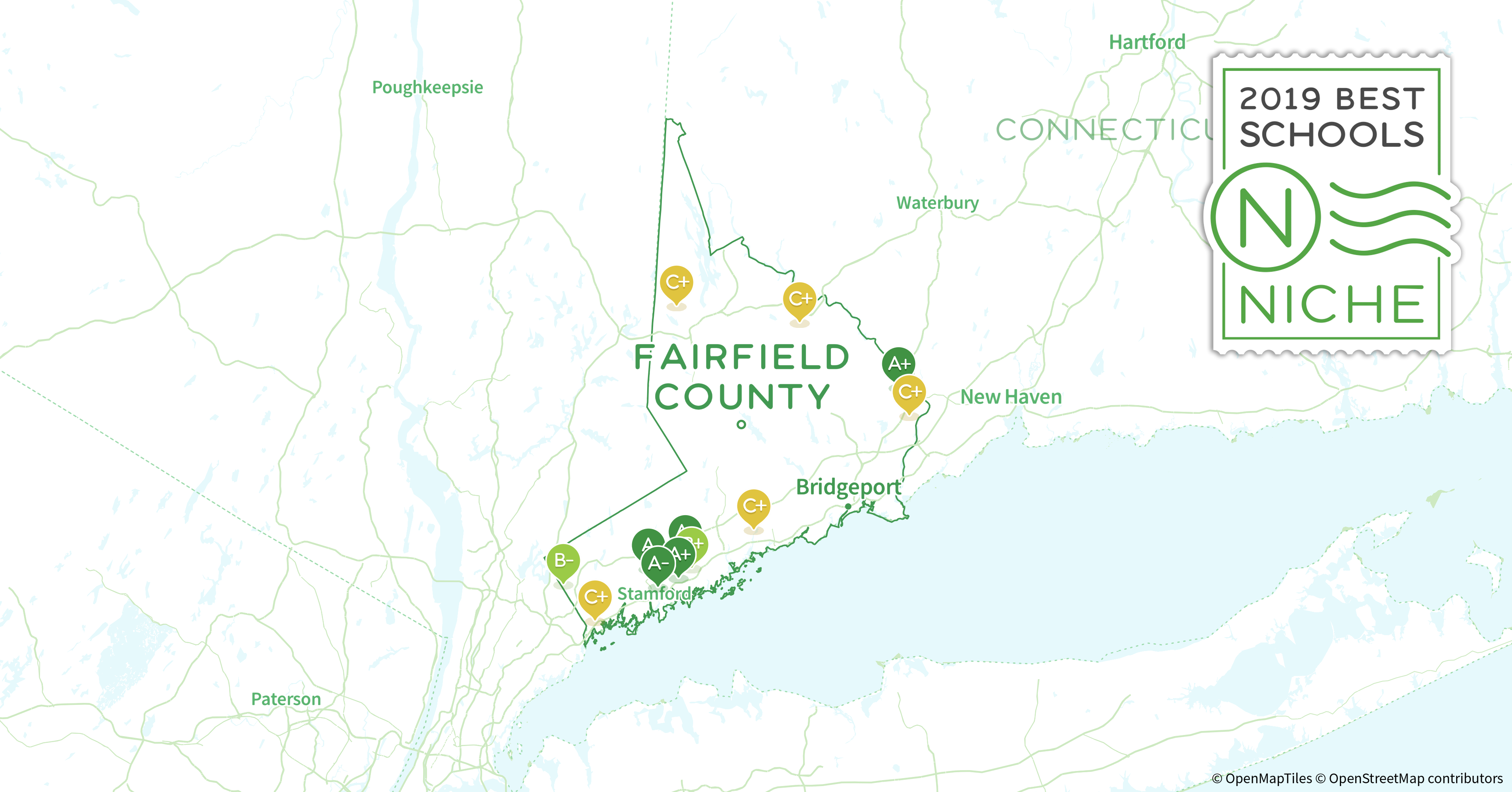 School Districts in Fairfield County, CT - Niche