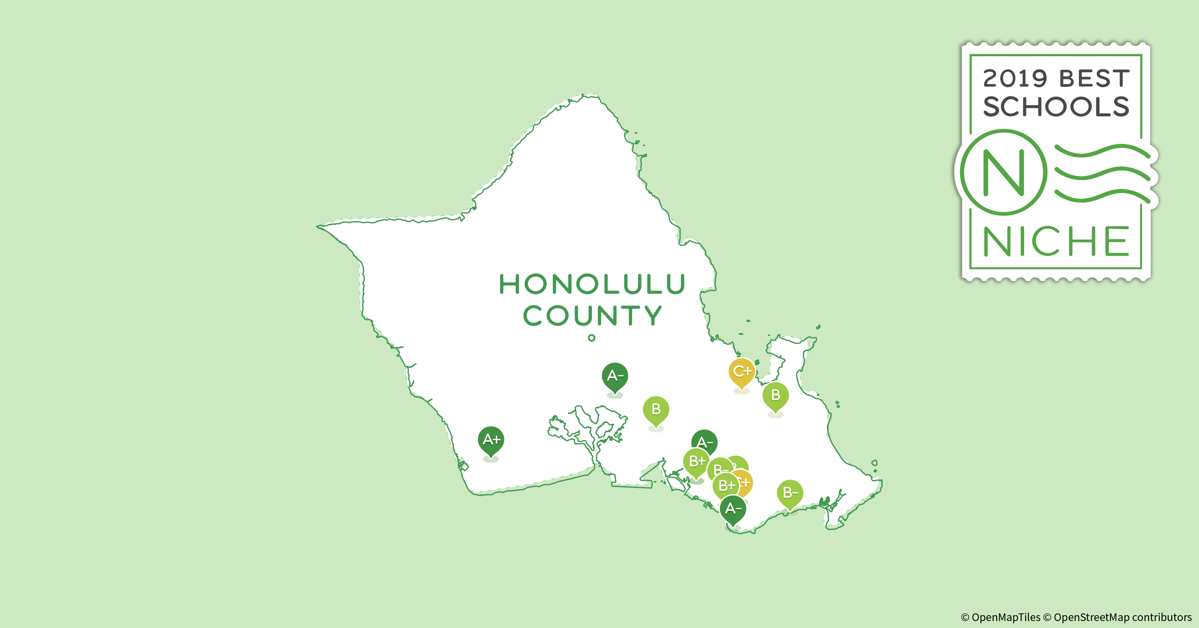 Honolulu Community College Campus Map.2019 Best Private High Schools In Honolulu County Hi Niche