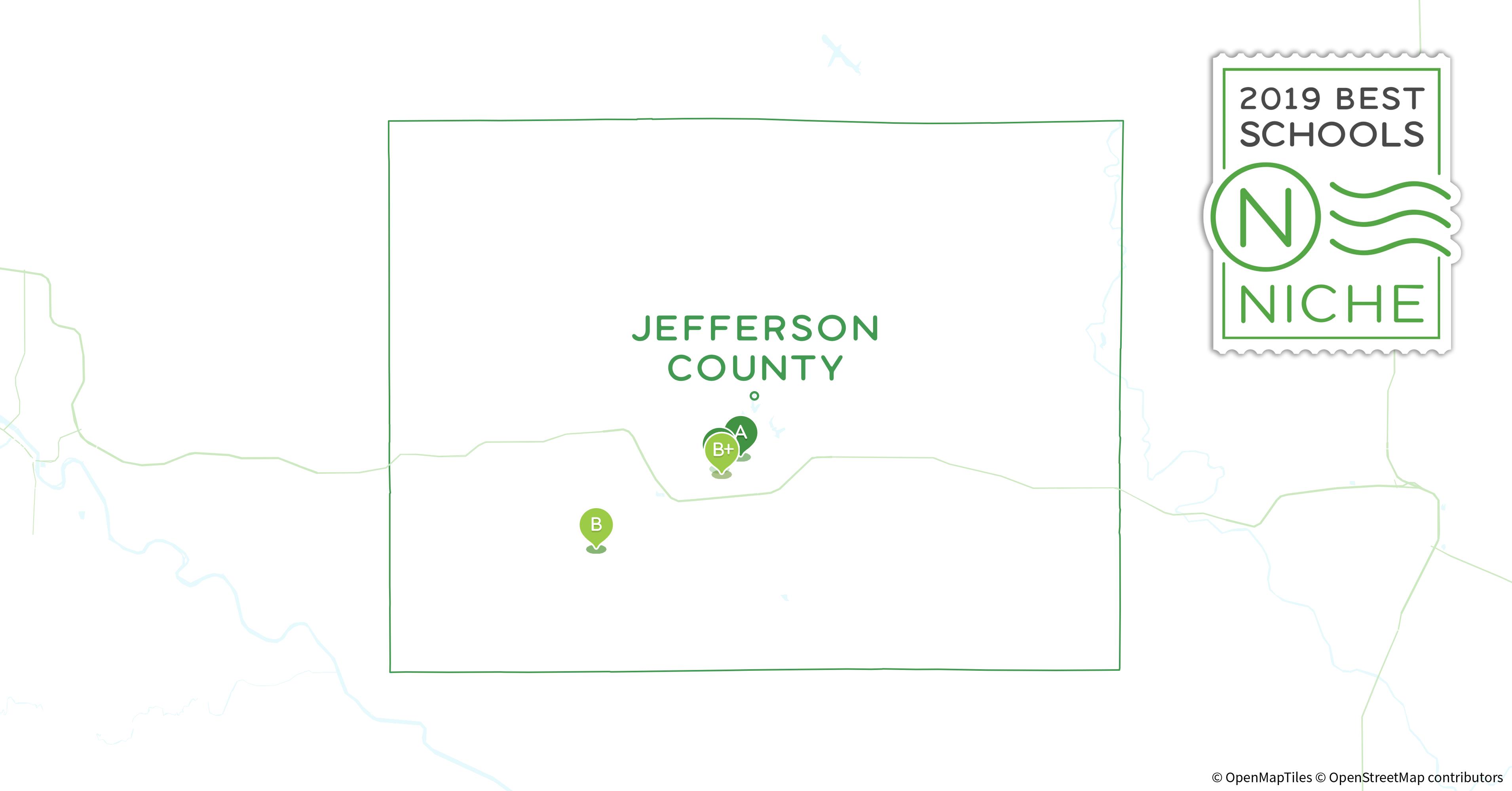Jefferson County Iowa Map.School Districts In Jefferson County Ia Niche
