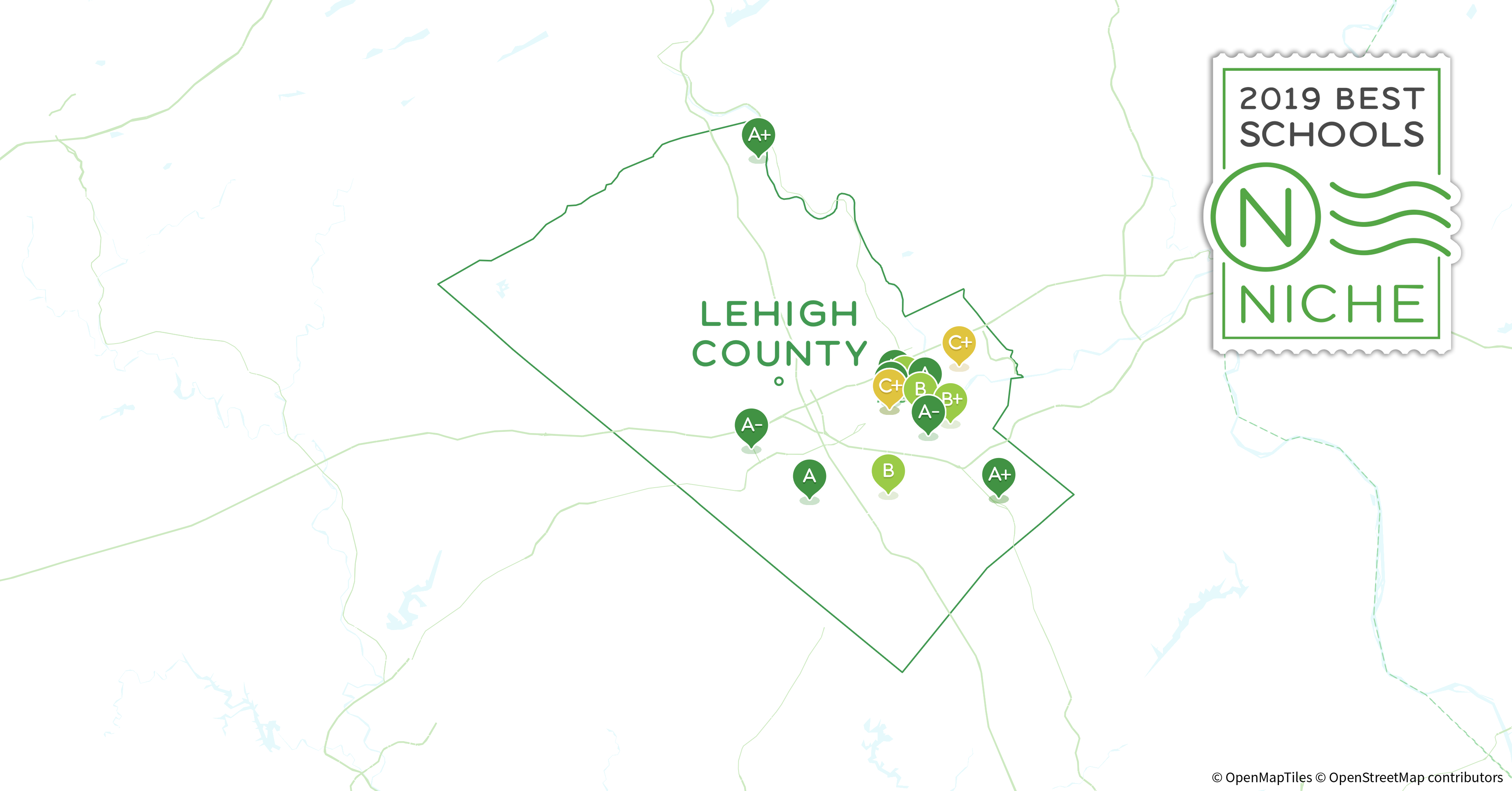 Lehigh Valley Zip Code Map.School Districts In Lehigh County Pa Niche