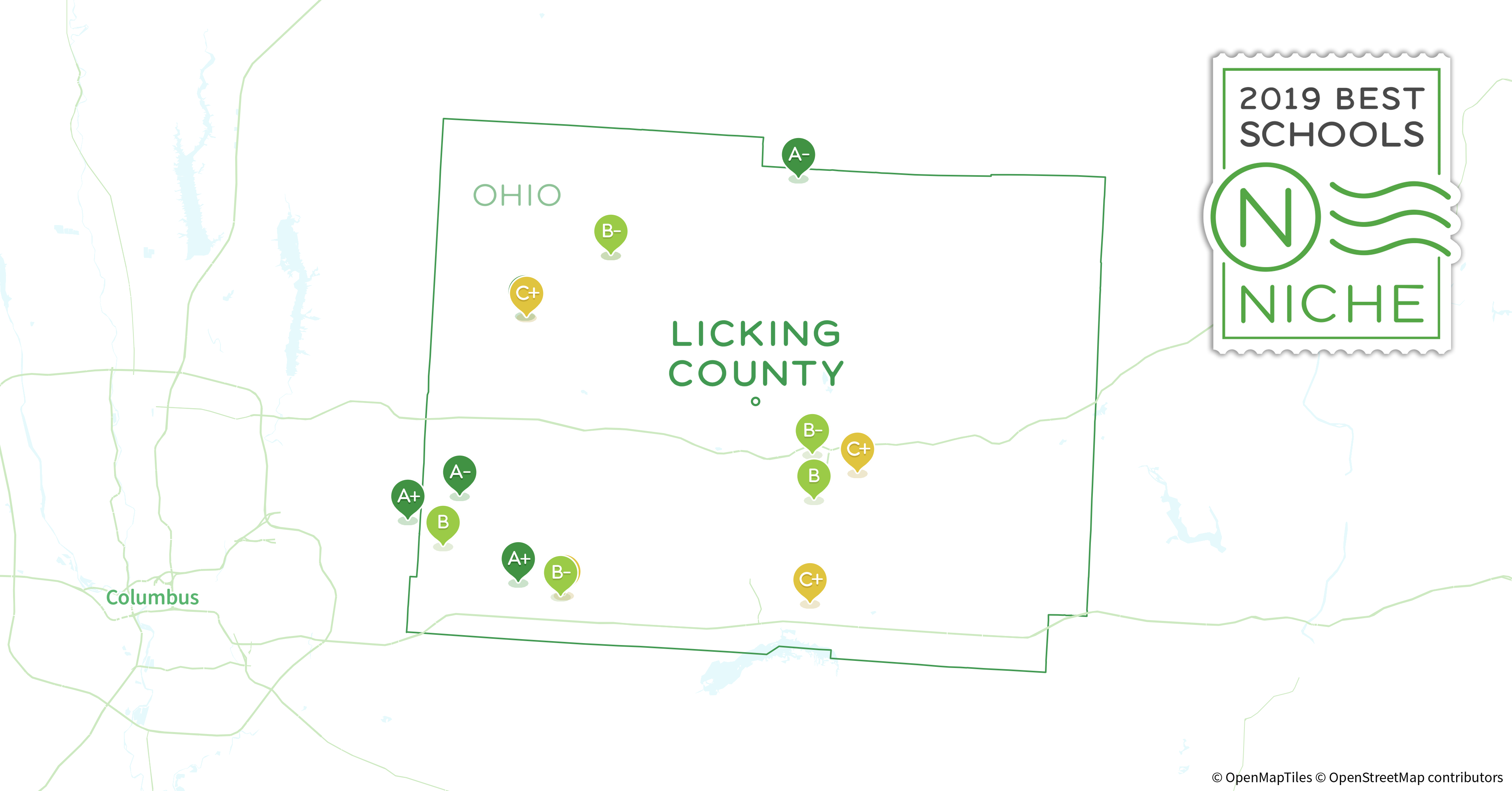 School Districts In Licking County Oh Niche