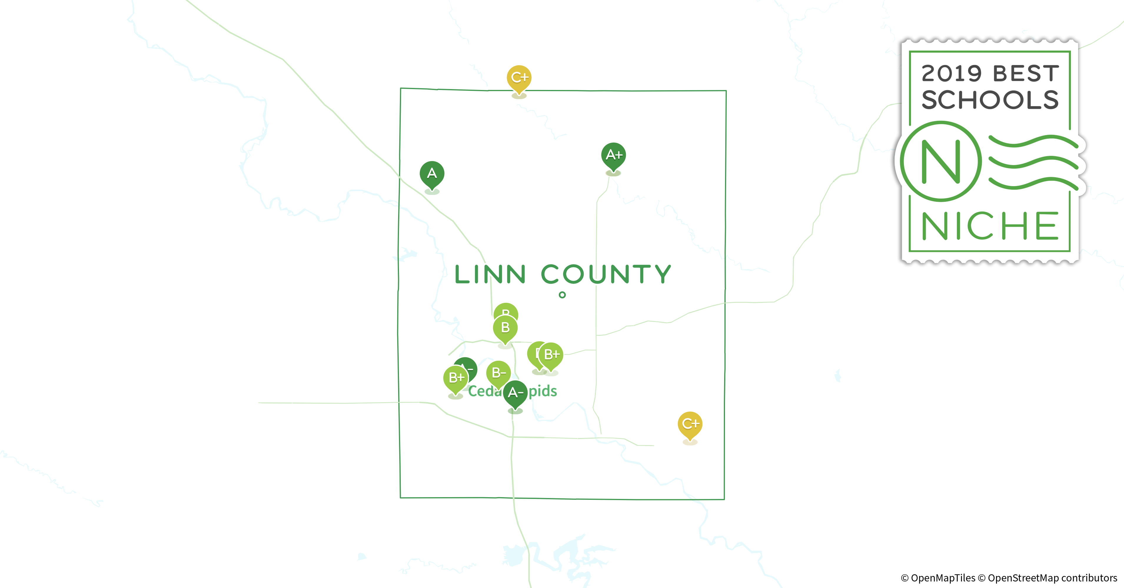 School Districts In Linn County Ia Niche