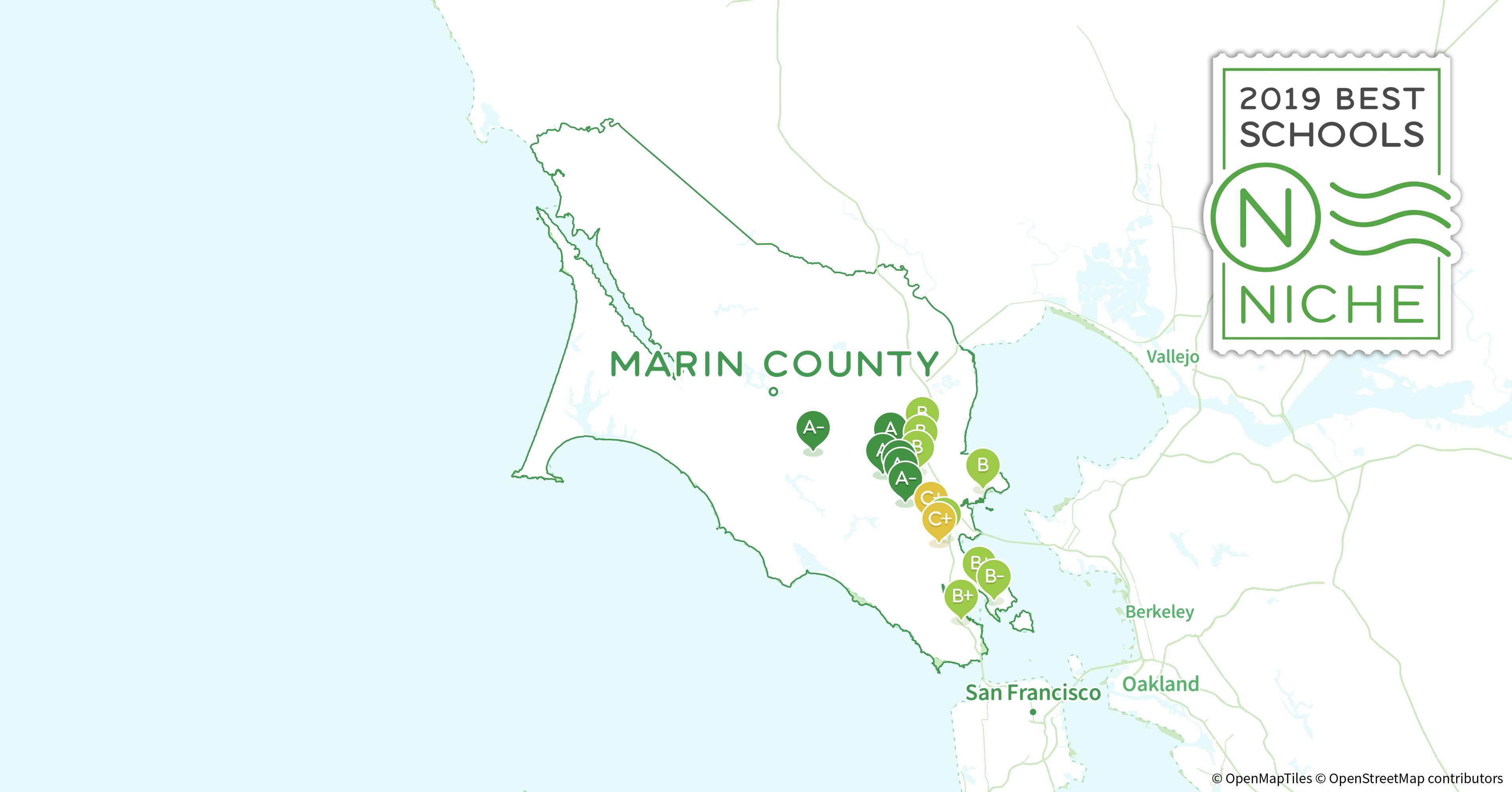School Districts In Marin County Ca Niche